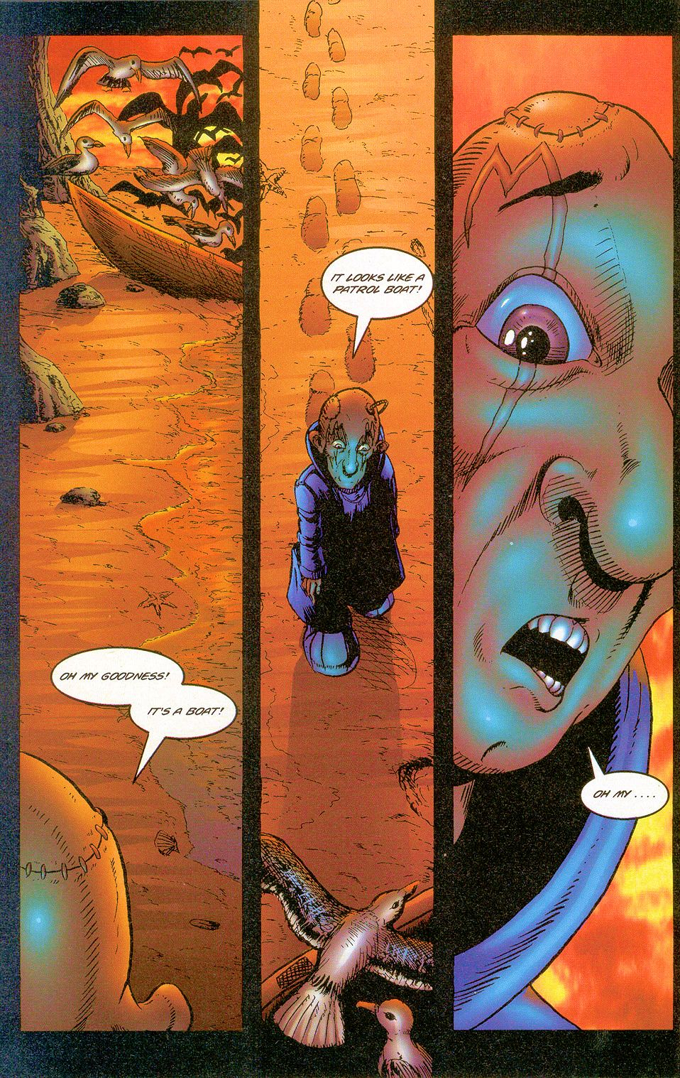 Read online Sisters of Mercy comic -  Issue #2 - 16