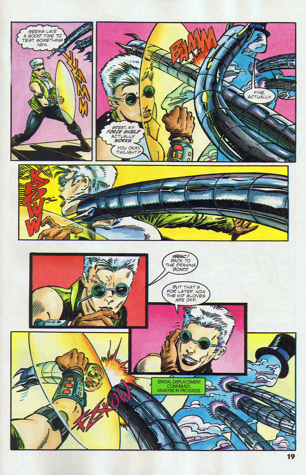 Read online Shadow Cabinet comic -  Issue #12 - 15