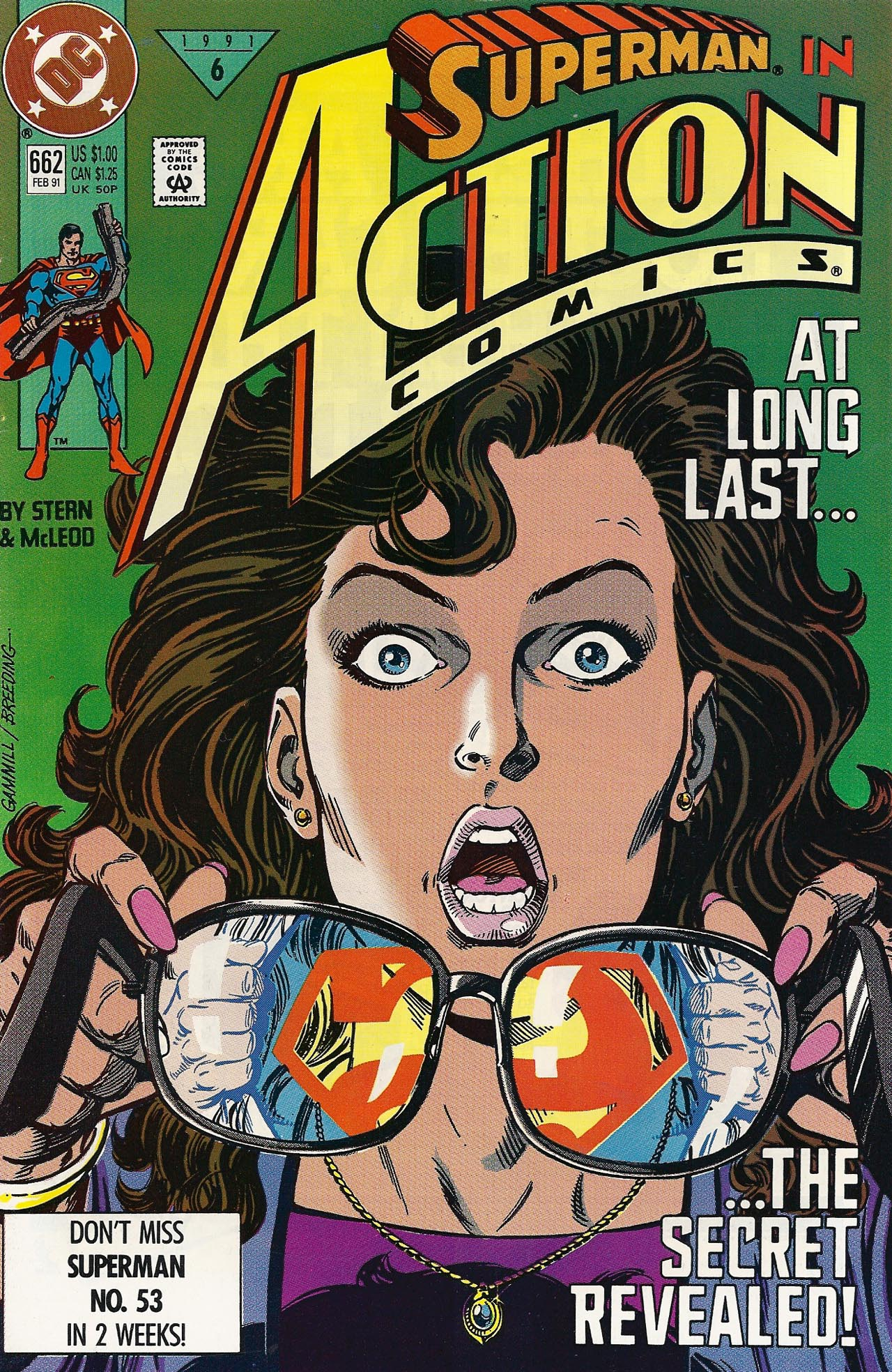 Read online Action Comics (1938) comic -  Issue #662 - 1