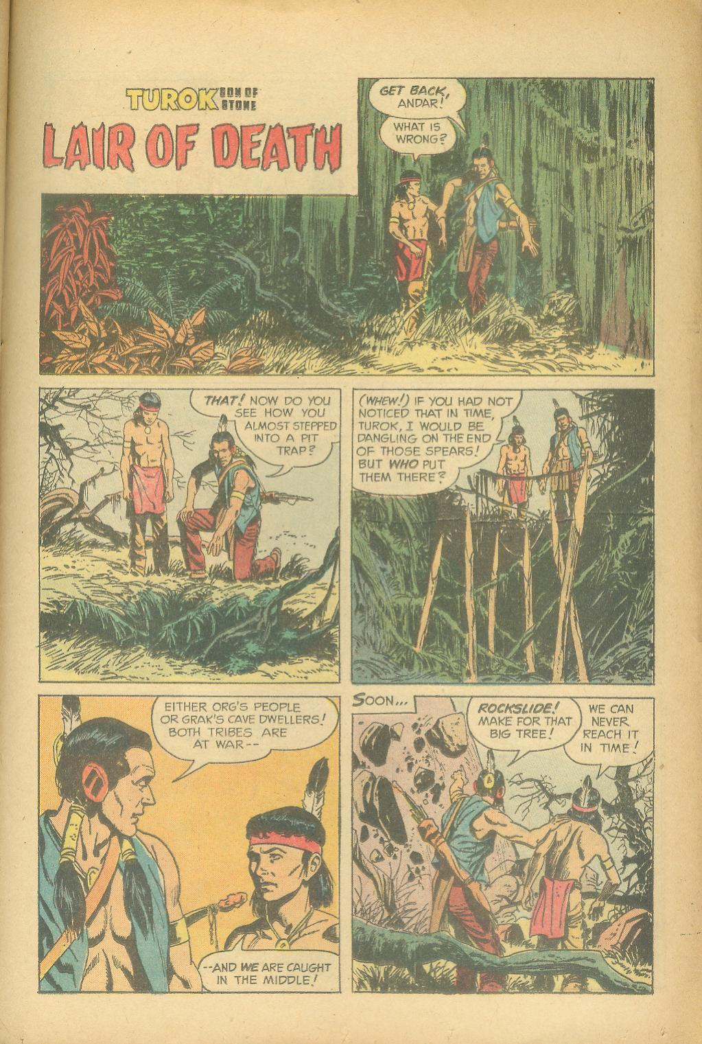 Read online Turok, Son of Stone comic -  Issue #24 - 25