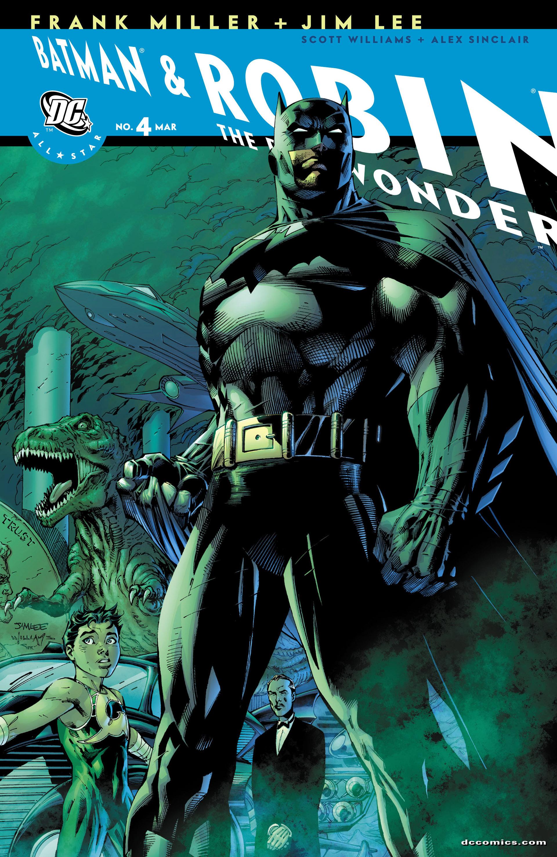 All Star Batman & Robin, The Boy Wonder 4 Page 1