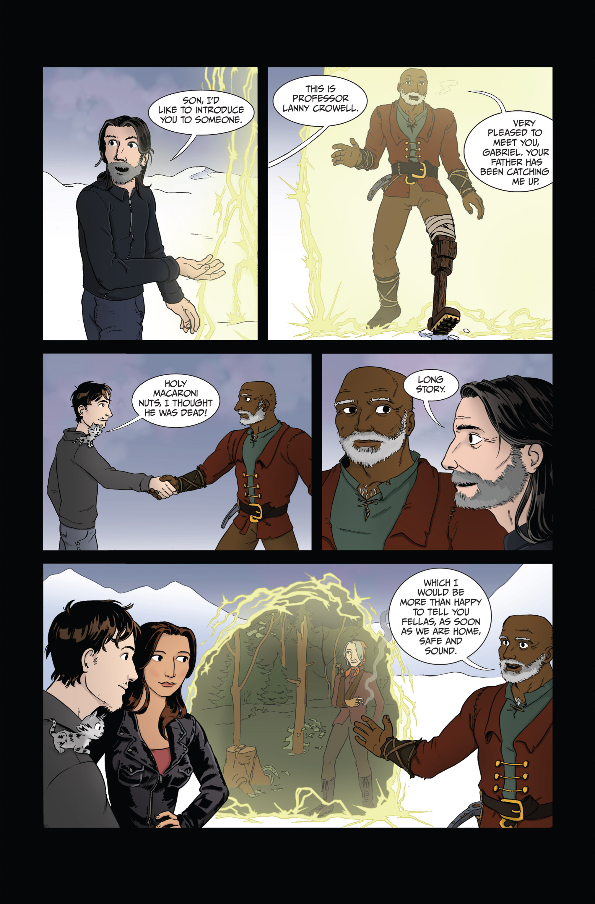 Read online Ehmm Theory: Everything & Small Doses comic -  Issue #4 - 22