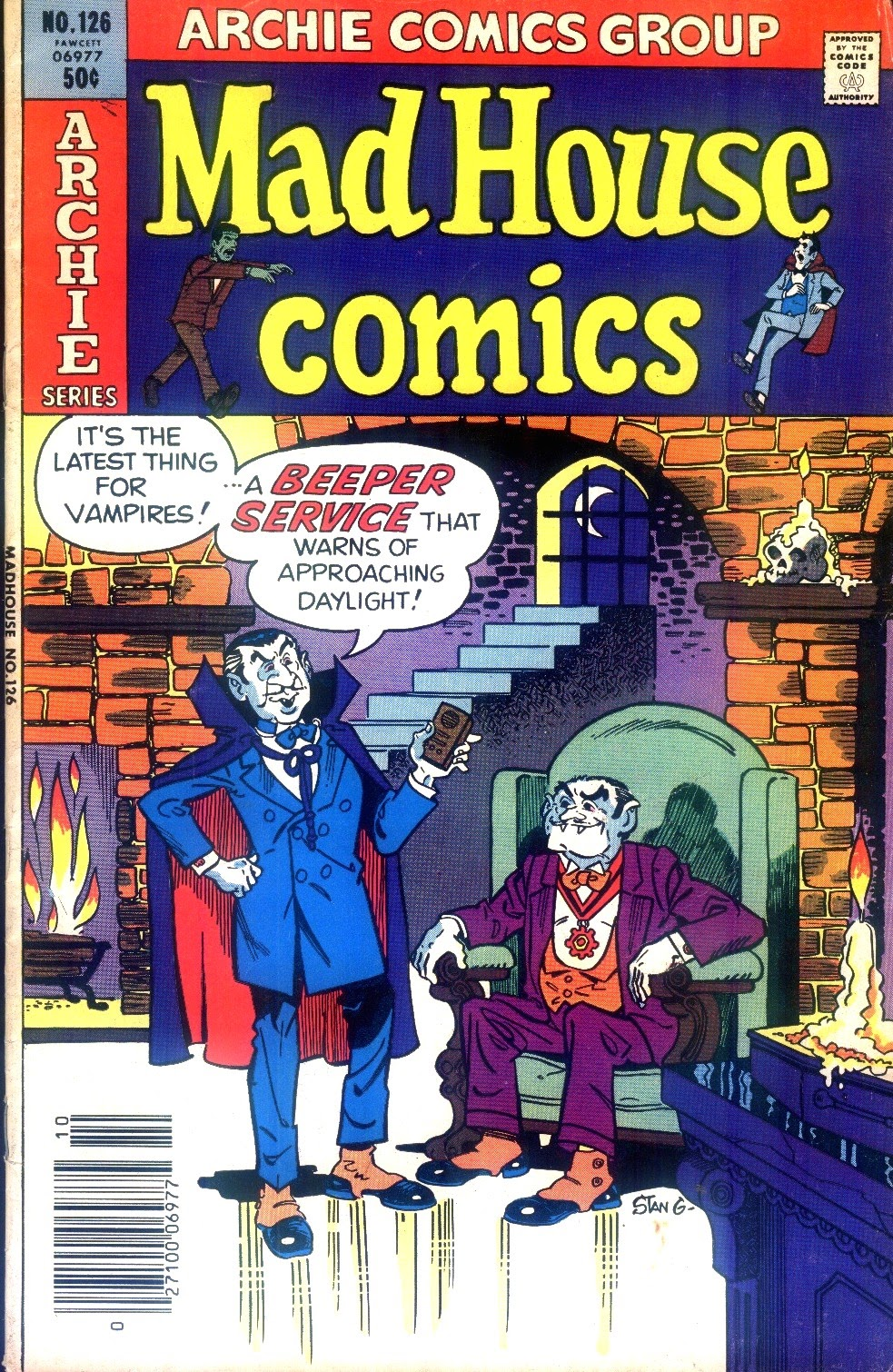 Read online Madhouse Comics comic -  Issue #126 - 1
