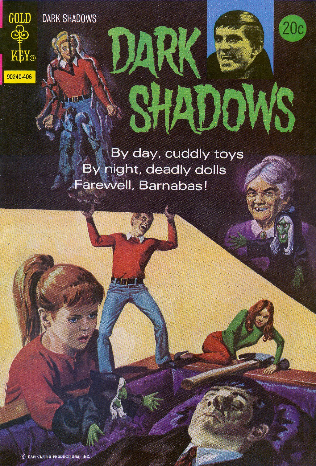 Dark Shadows (1969) 26 Page 1
