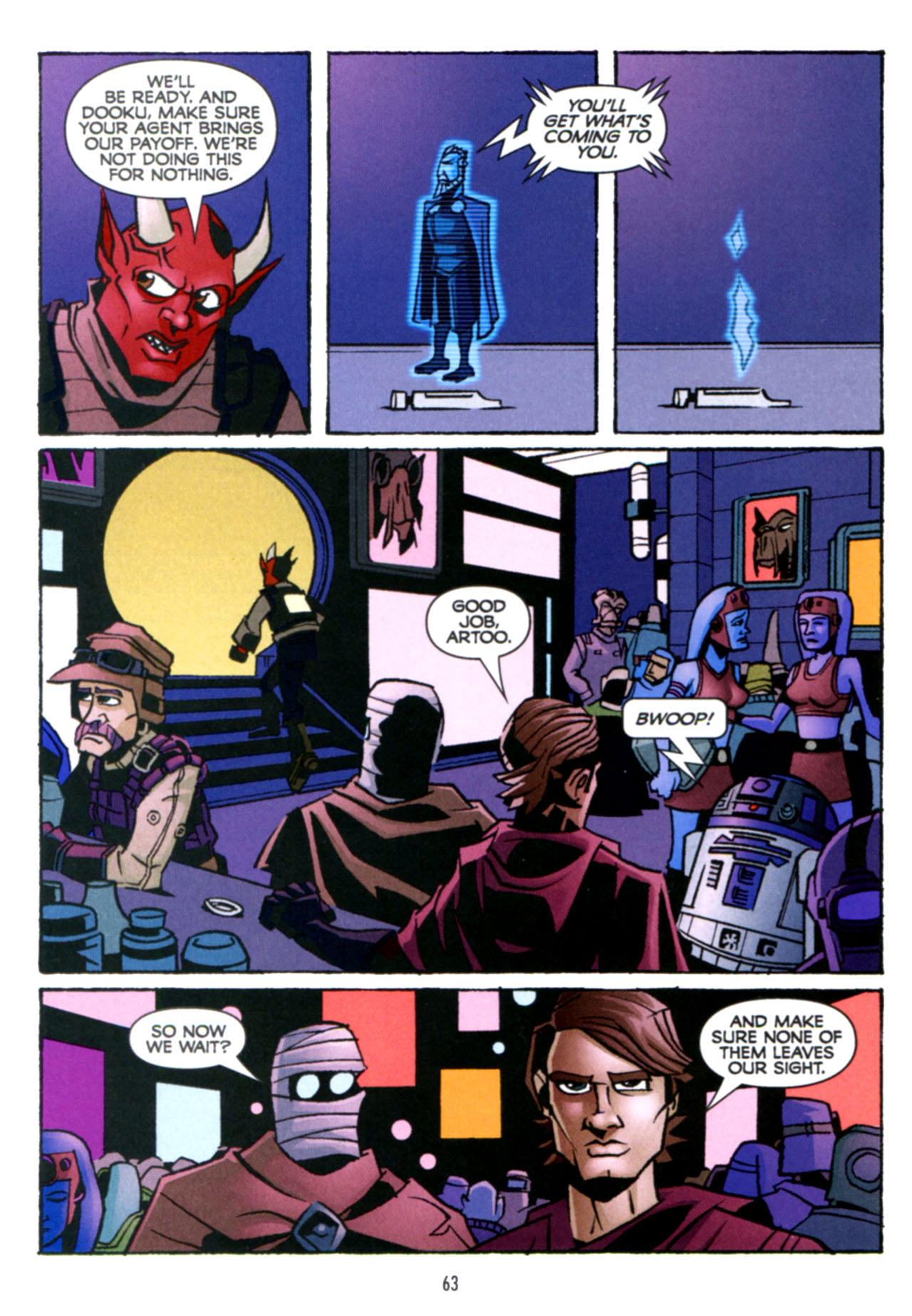 Read online Star Wars: The Clone Wars - Crash Course comic -  Issue # Full - 64