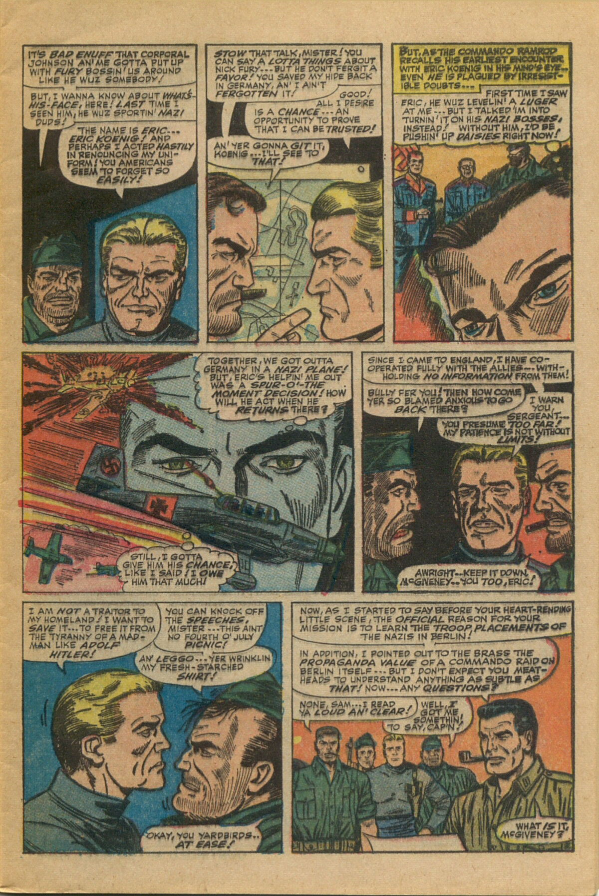 Read online Sgt. Fury comic -  Issue #35 - 5