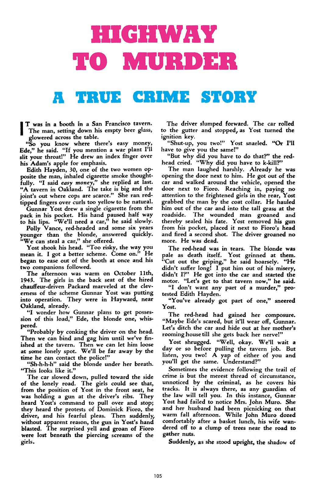 Read online Crime Does Not Pay Archives comic -  Issue # TPB 10 (Part 2) - 6