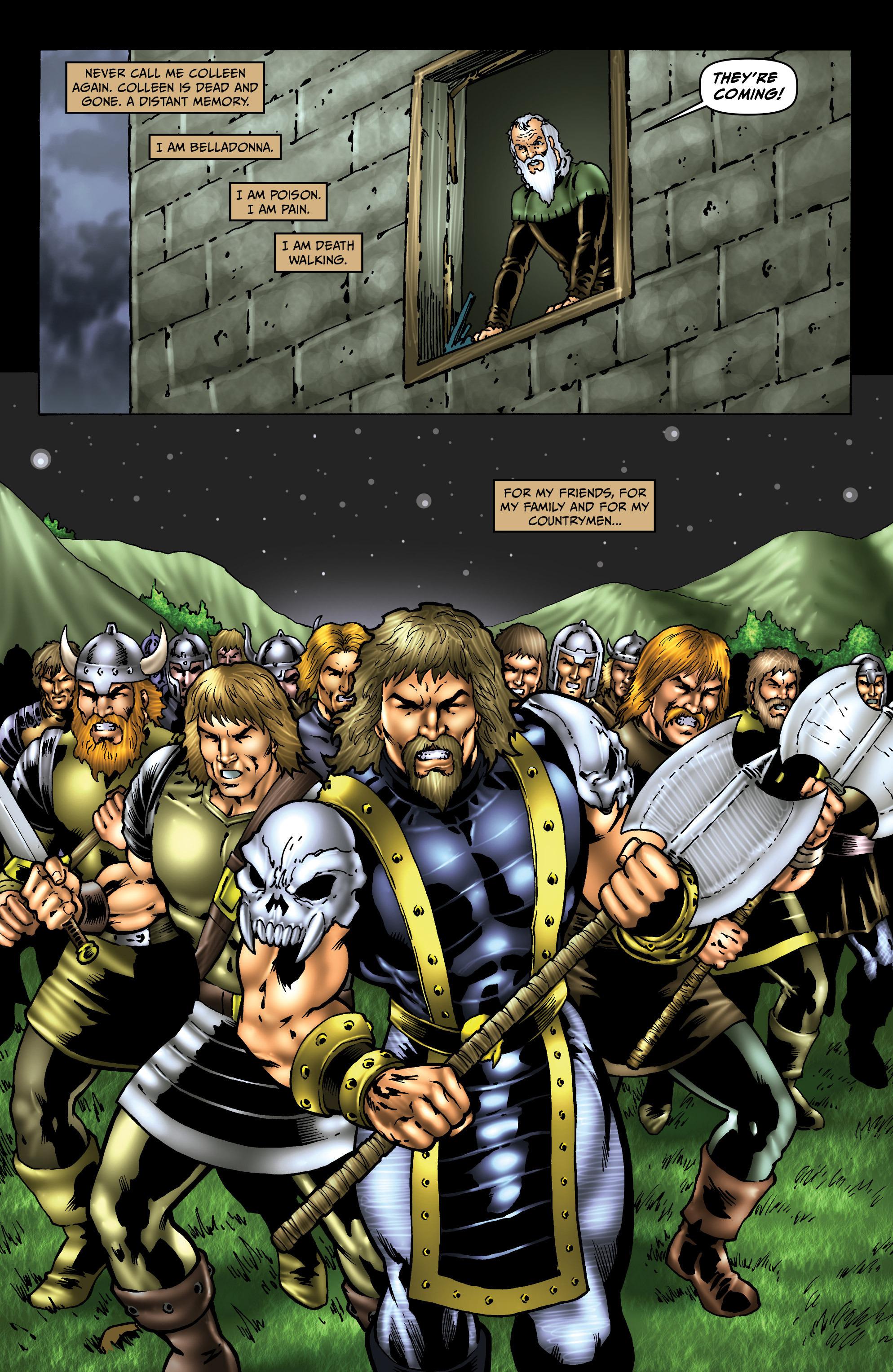 Read online Belladonna: Origins comic -  Issue #5 - 21