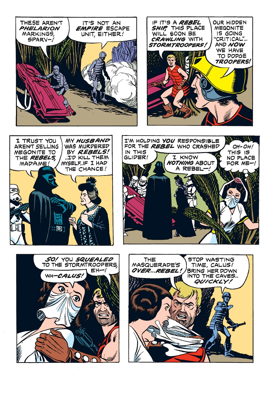 Read online Star Wars Legends: The Newspaper Strips - Epic Collection comic -  Issue # TPB (Part 2) - 67