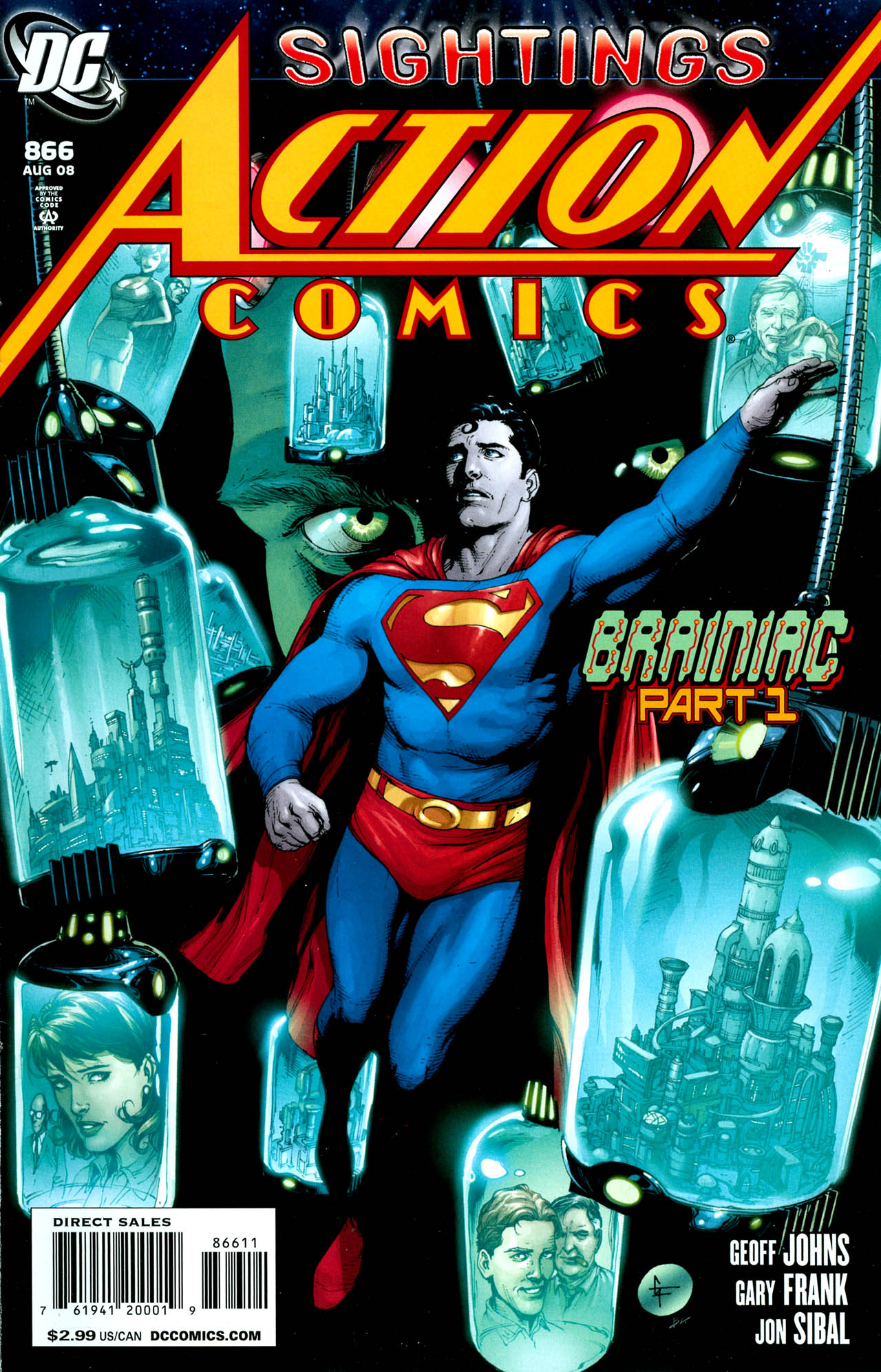 Read online Action Comics (1938) comic -  Issue #866 - 2
