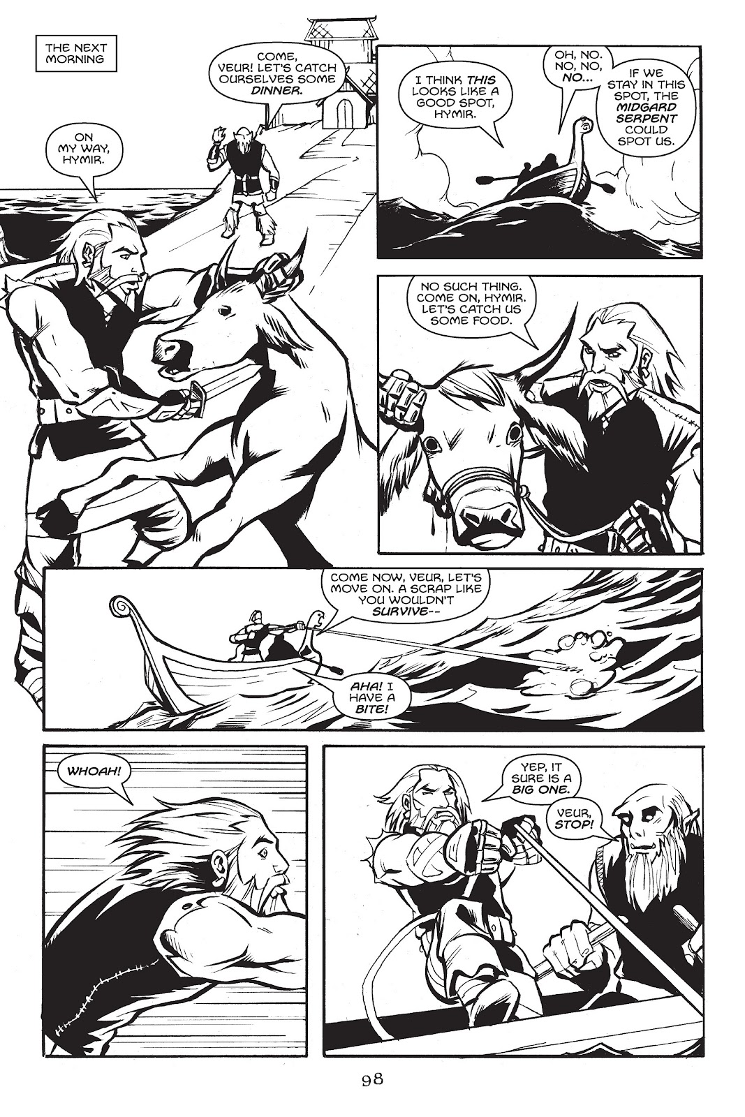 Read online Gods of Asgard comic -  Issue # TPB (Part 1) - 99
