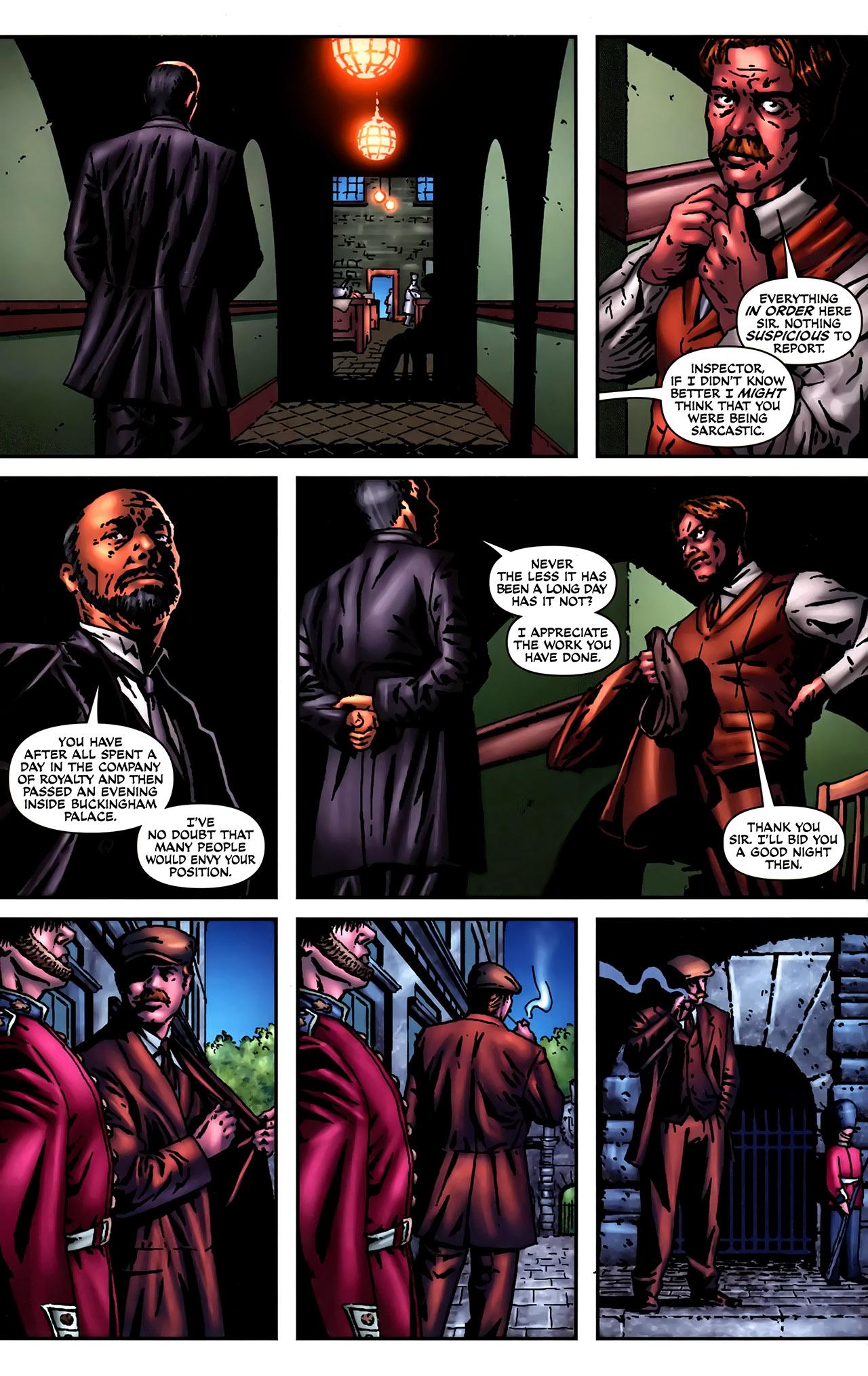 Read online Sherlock Holmes (2009) comic -  Issue #2 - 14