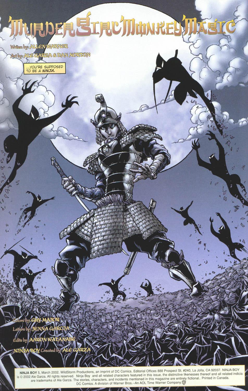Read online Ninja Boy comic -  Issue #5 - 4