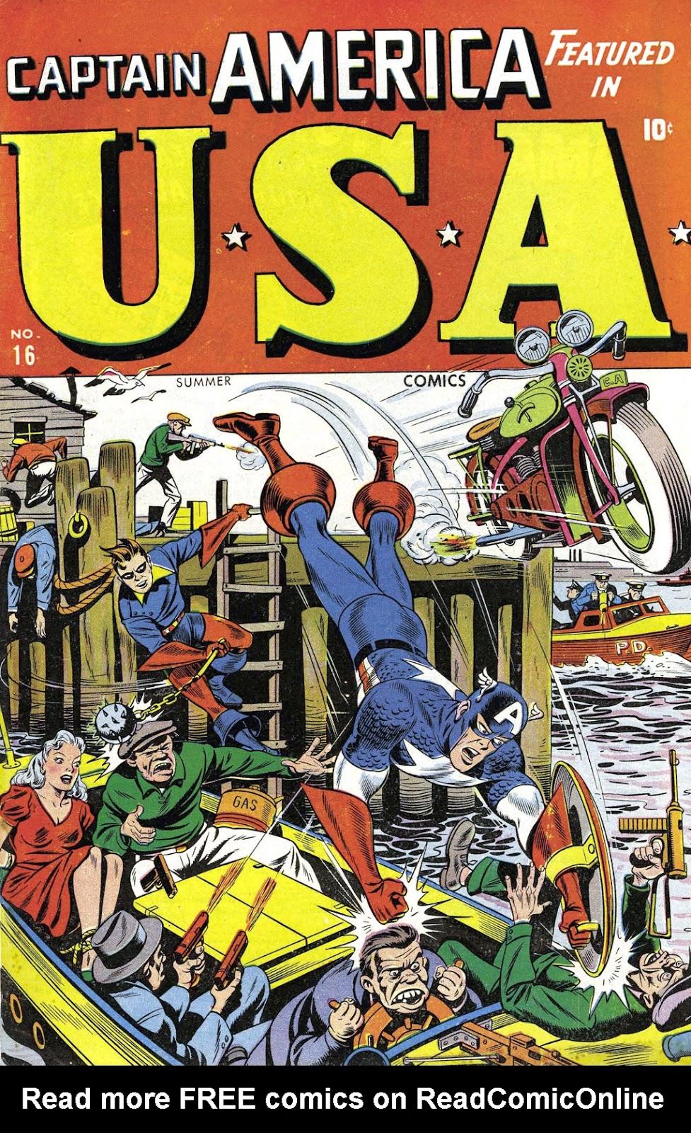 USA Comics 16 Page 1