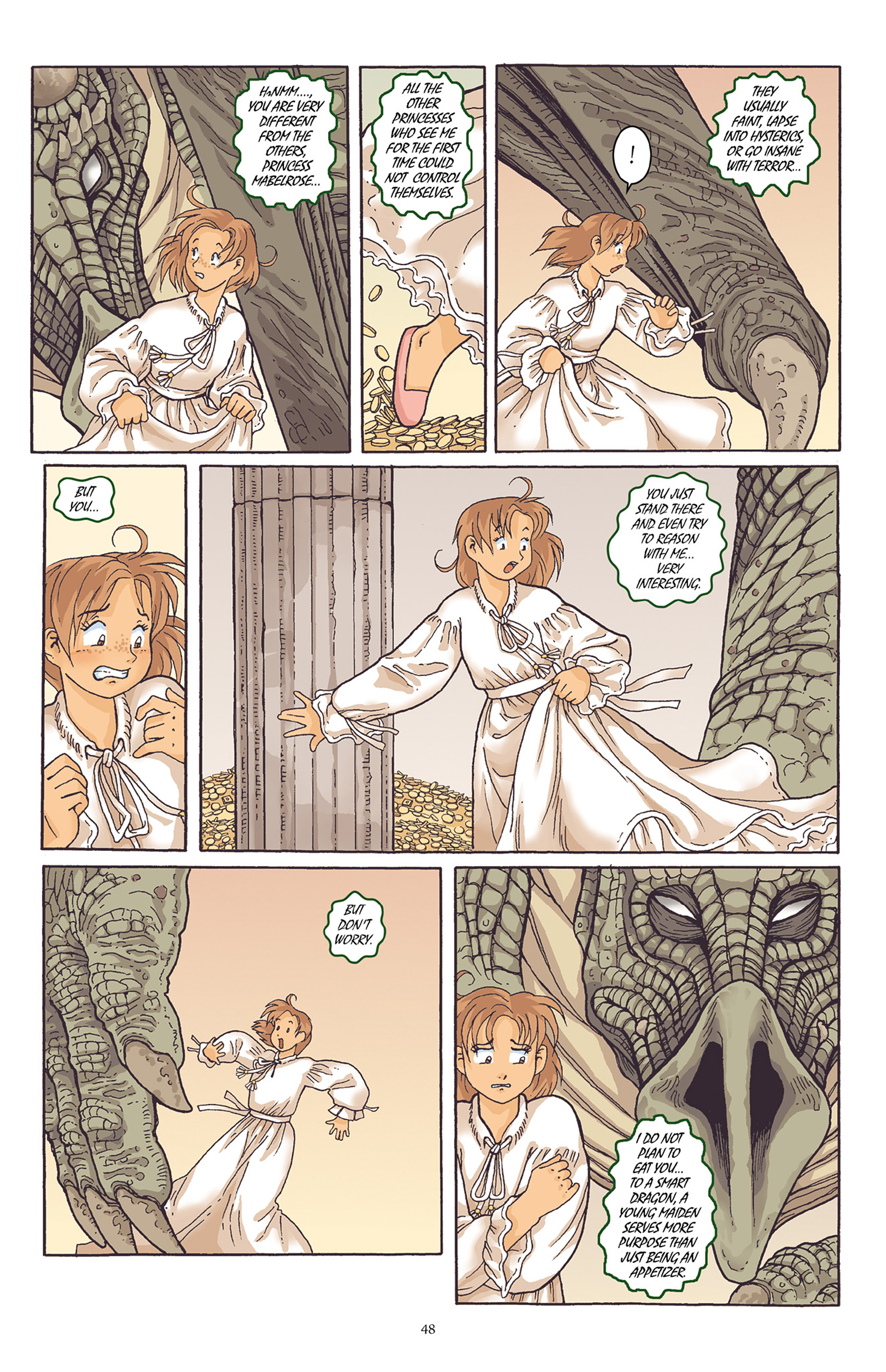 Read online Courageous Princess comic -  Issue # TPB 1 - 49