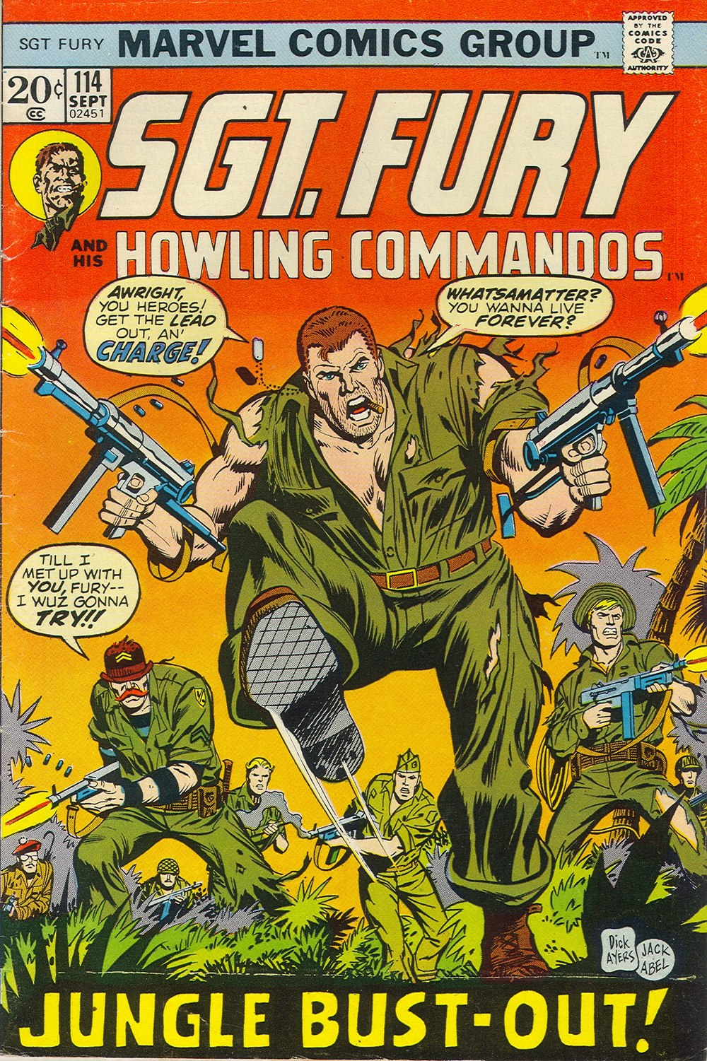 Read online Sgt. Fury comic -  Issue #114 - 1