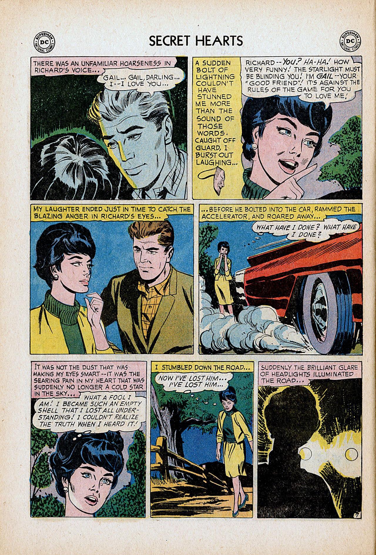 Read online Secret Hearts comic -  Issue #86 - 24