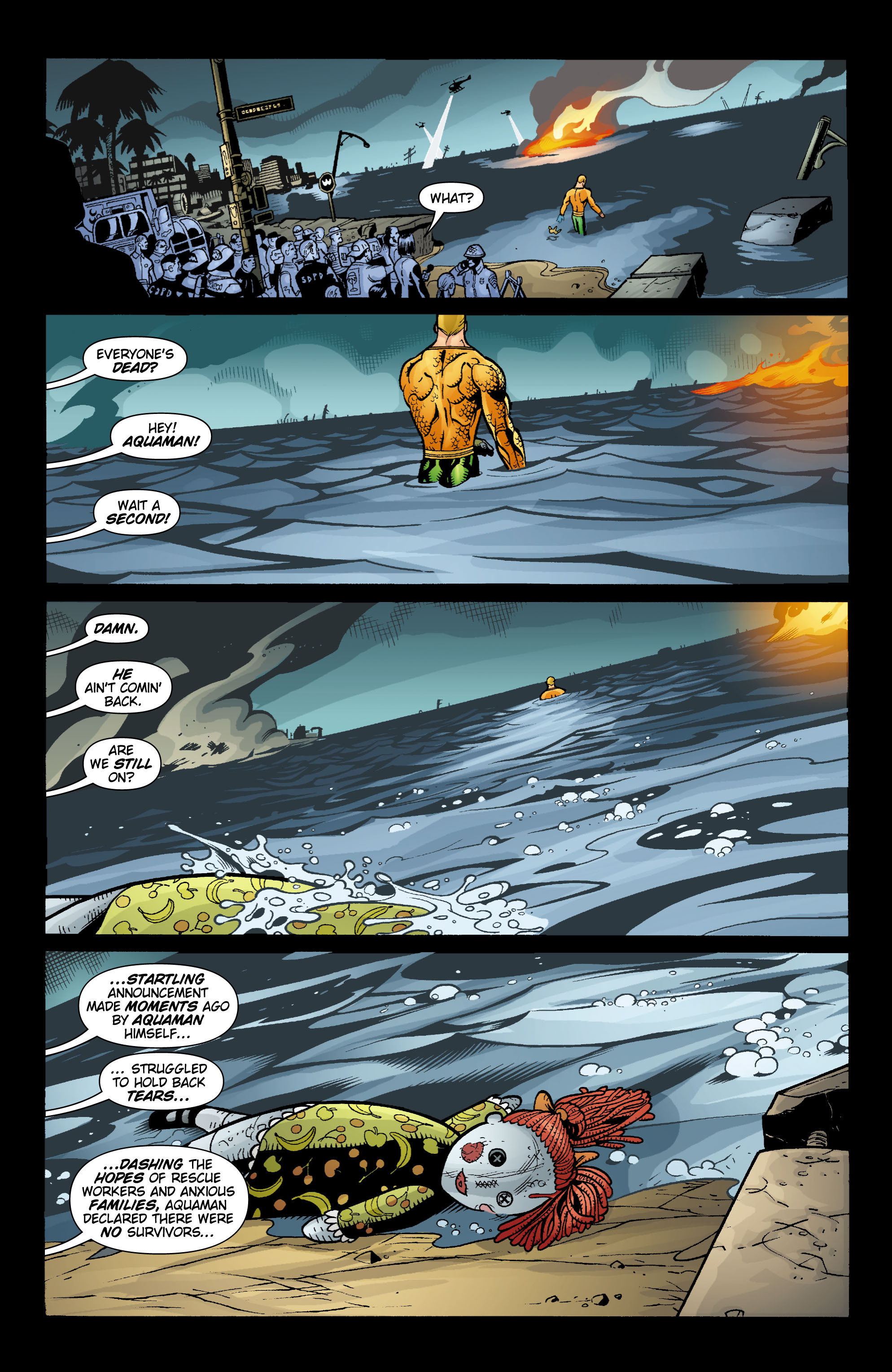 Read online Aquaman (2003) comic -  Issue #15 - 9