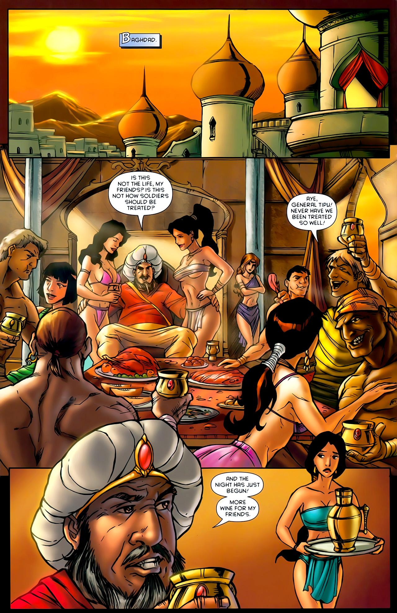 Read online 1001 Arabian Nights: The Adventures of Sinbad comic -  Issue #10 - 12