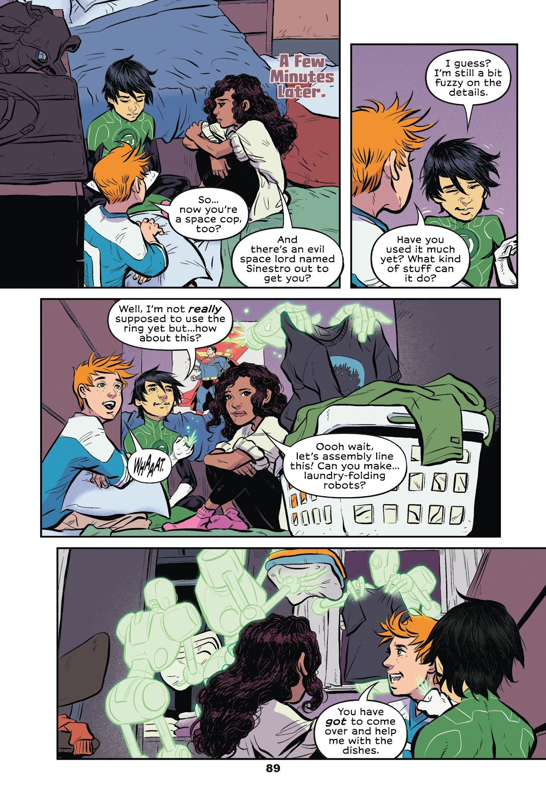 Read online Green Lantern: Legacy comic -  Issue # TPB - 87