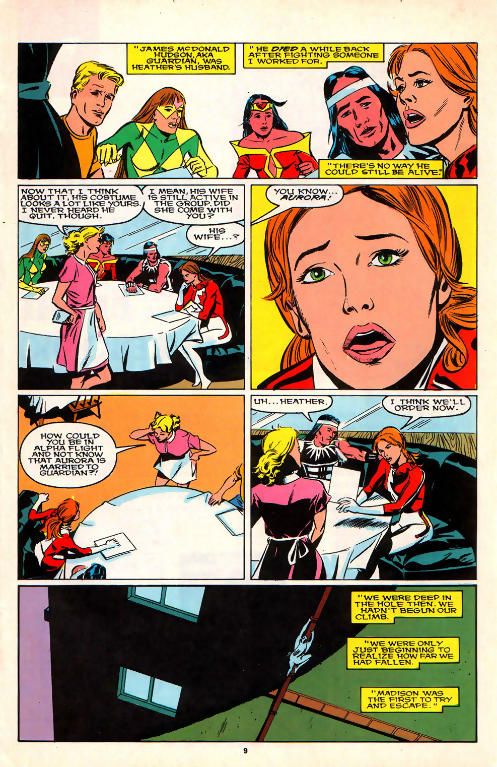 Read online Alpha Flight (1983) comic -  Issue #74 - 8