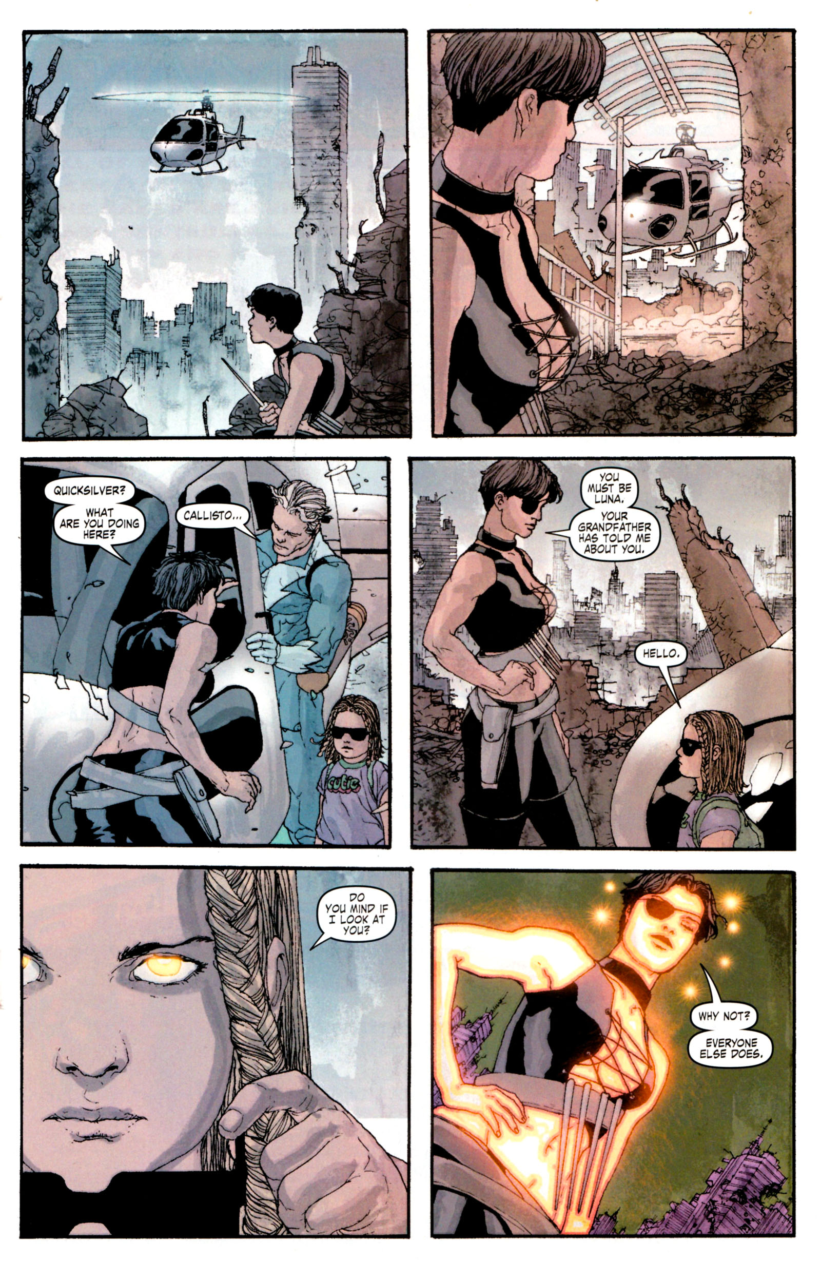 Read online Son of M comic -  Issue #4 - 19