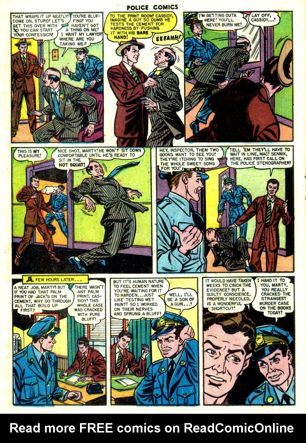 Police Comics issue 105 - Page 32