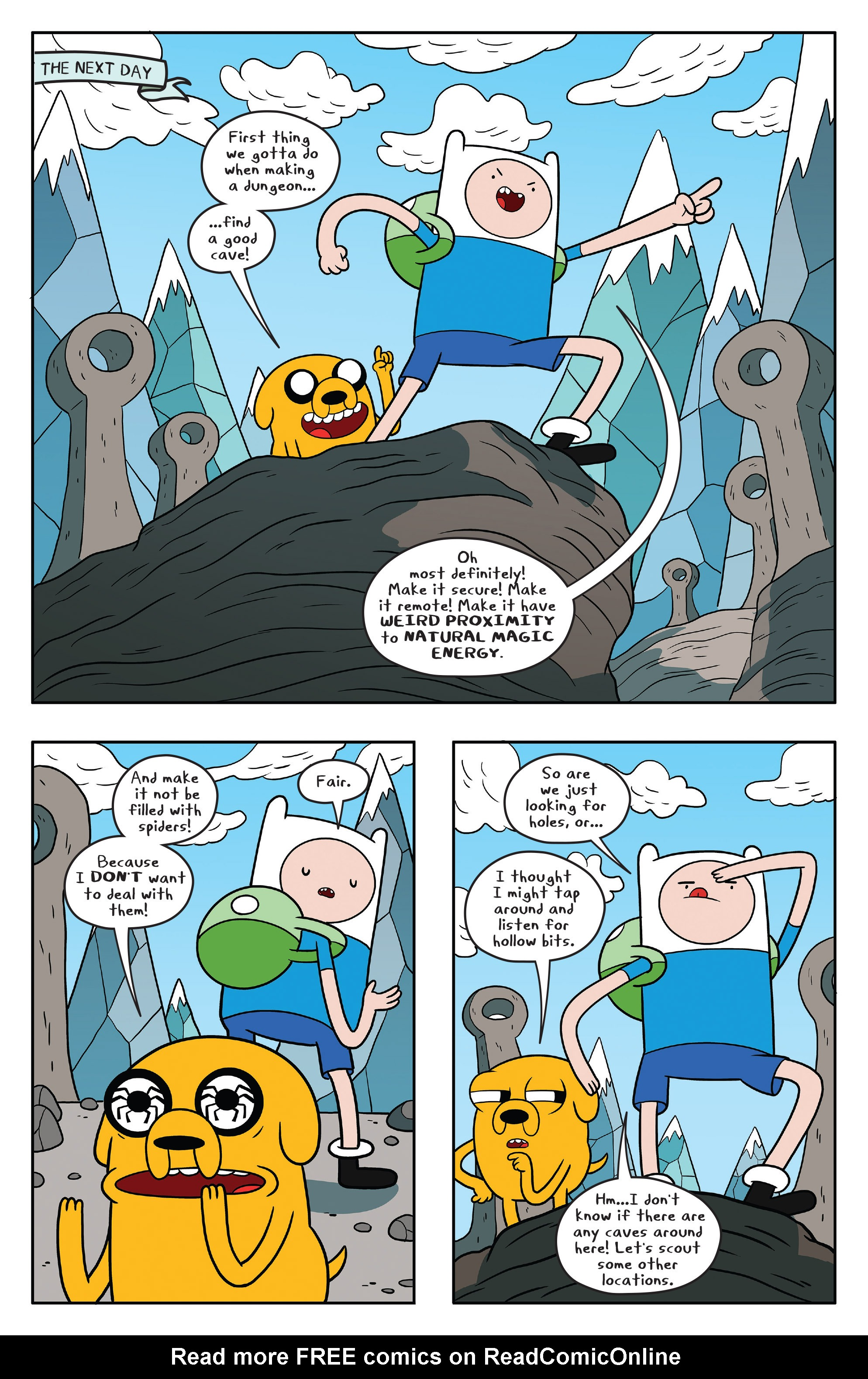Read online Adventure Time comic -  Issue #58 - 8