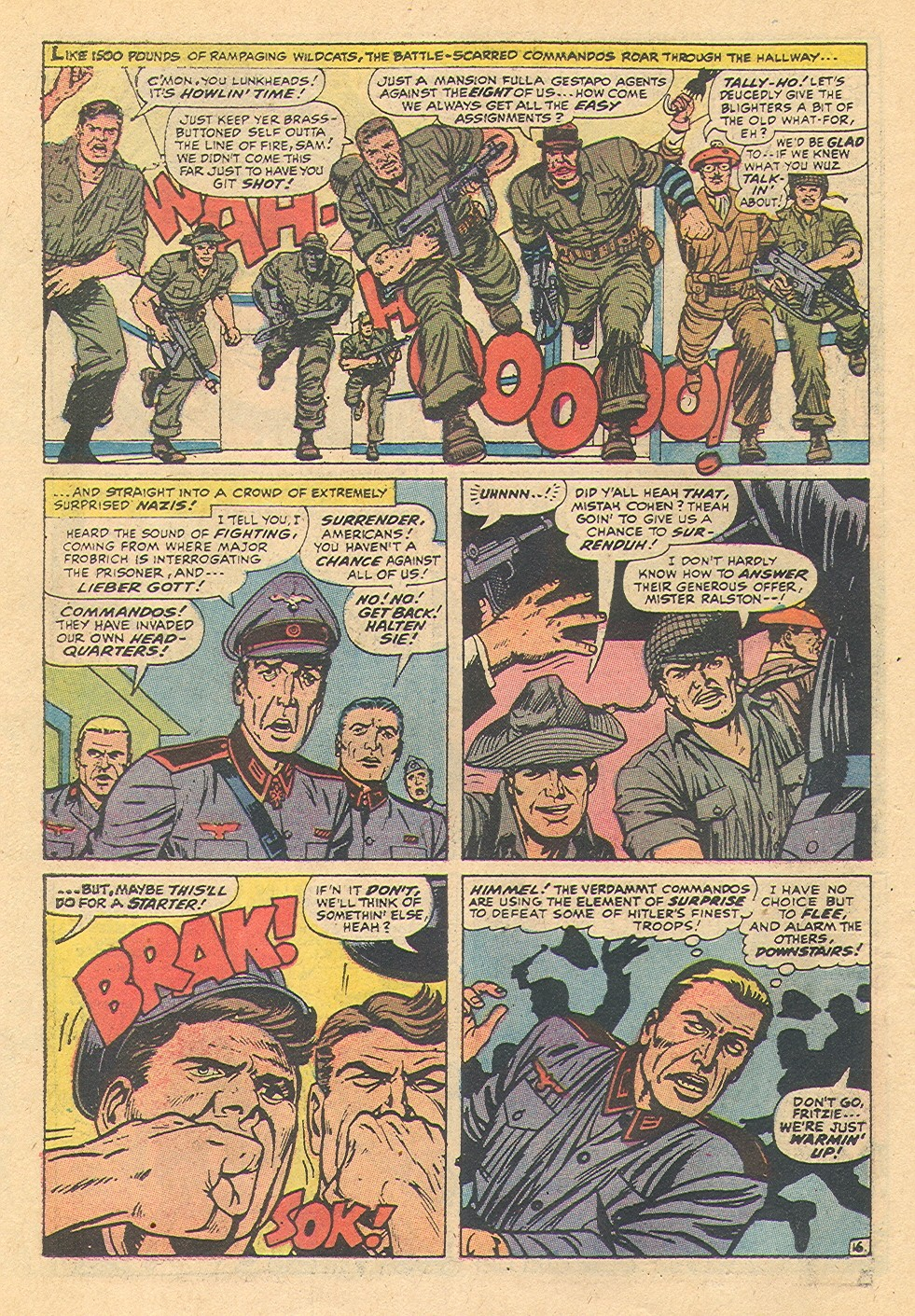 Read online Sgt. Fury comic -  Issue #92 - 42