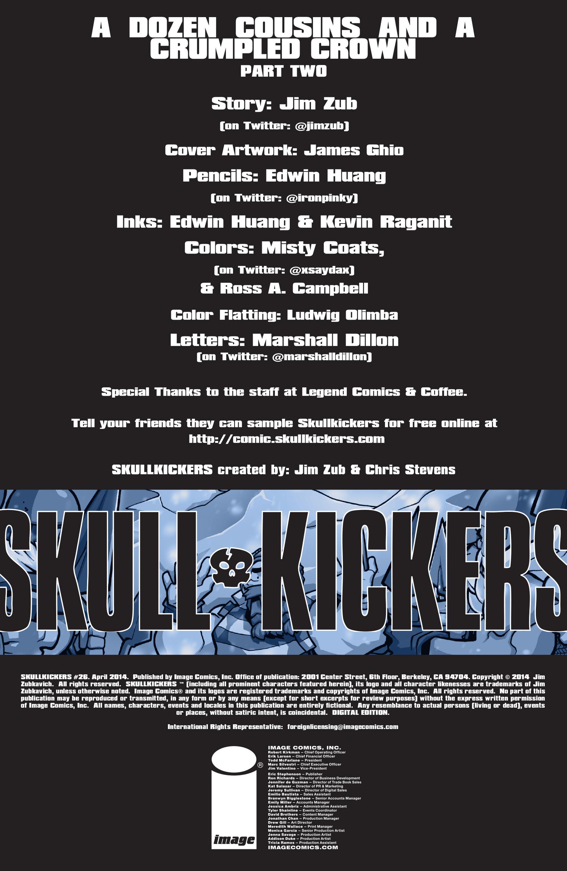 Read online Skullkickers comic -  Issue #26 - 2