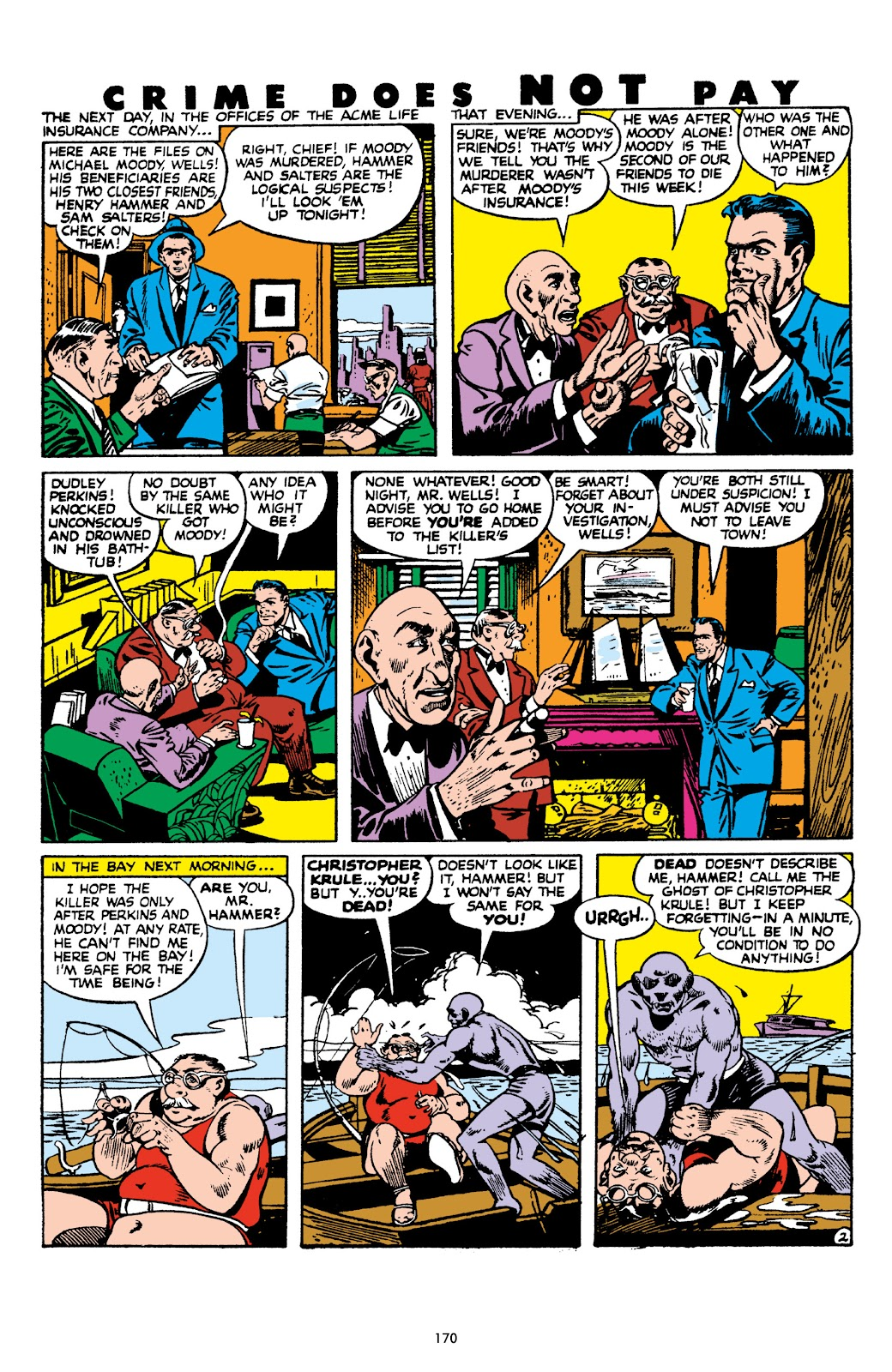 Read online Crime Does Not Pay Archives comic -  Issue # TPB 8 (Part 2) - 71