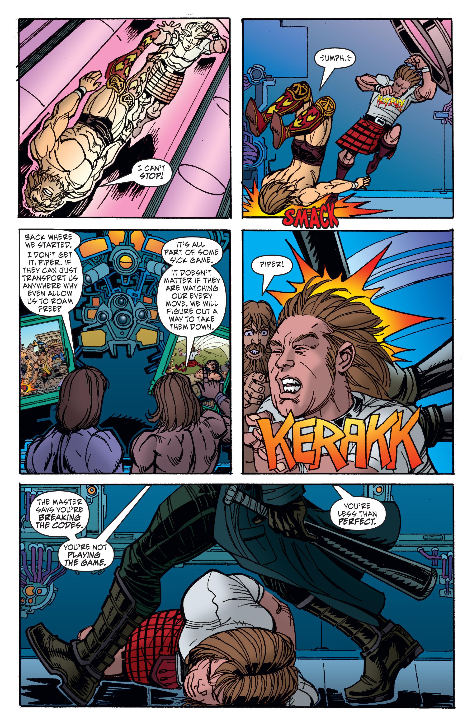 Read online WWE Superstars comic -  Issue #11 - 21