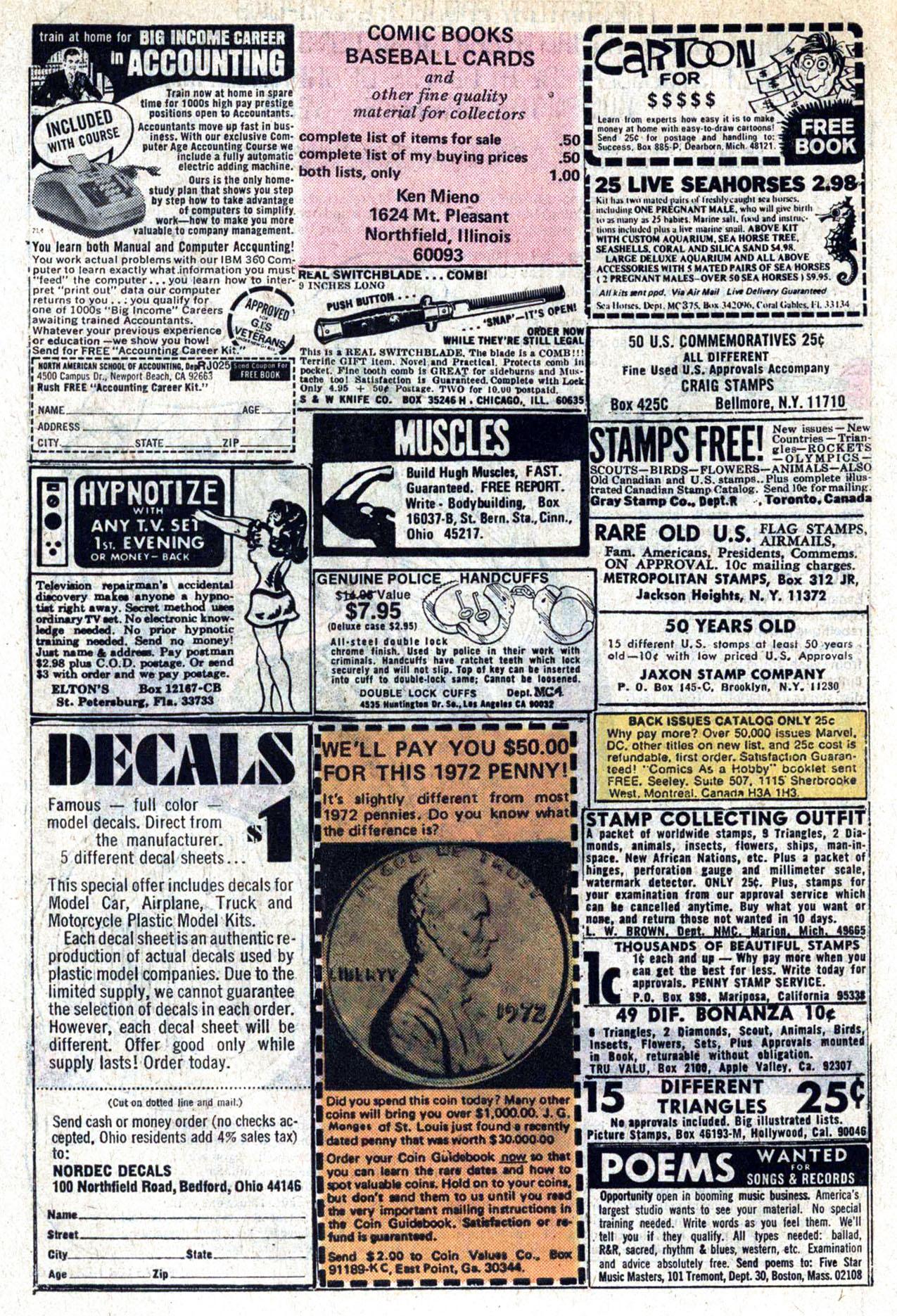 Read online Amazing Adventures (1970) comic -  Issue #30 - 10