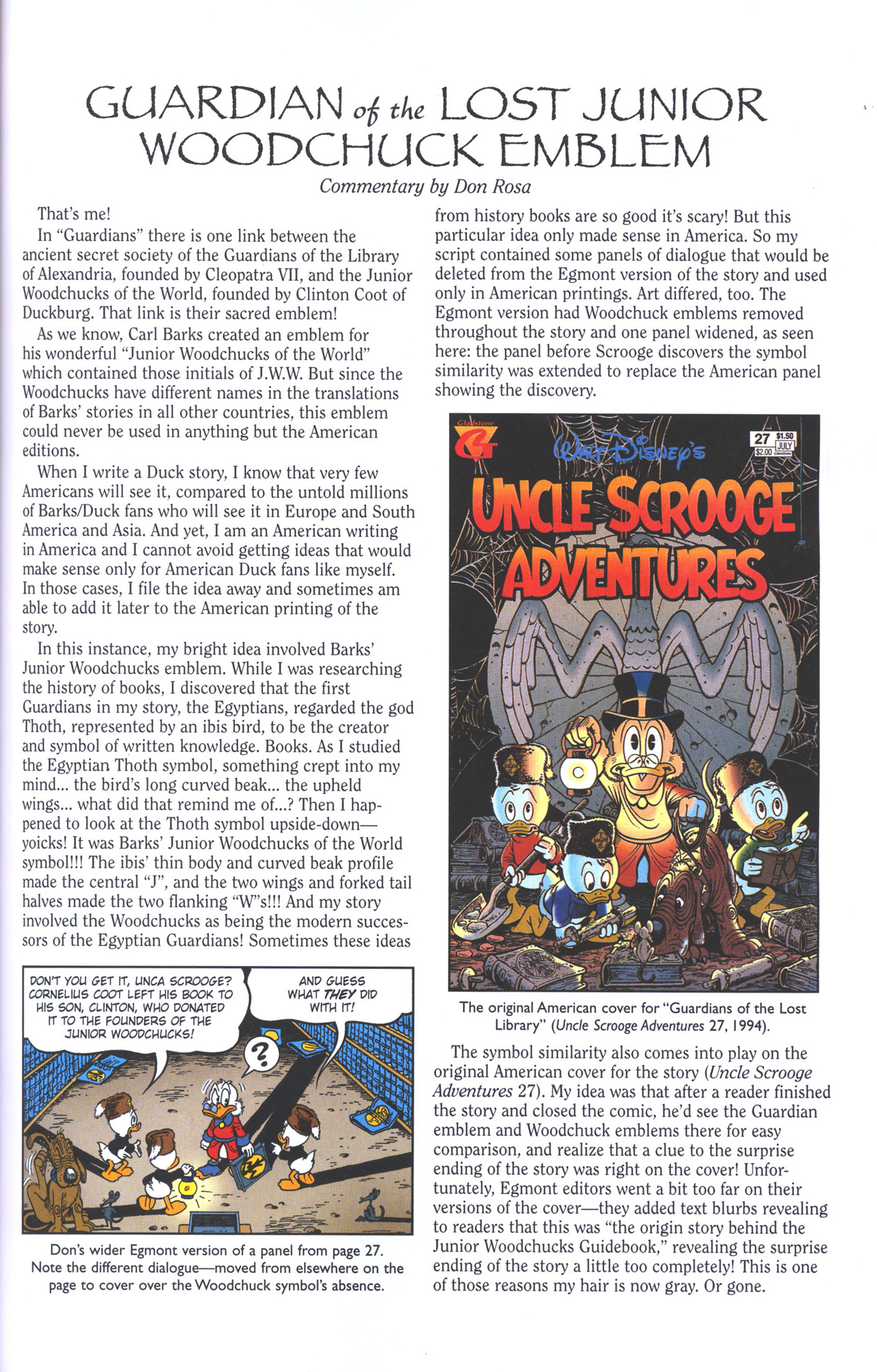 Read online Uncle Scrooge (1953) comic -  Issue #383 - 33