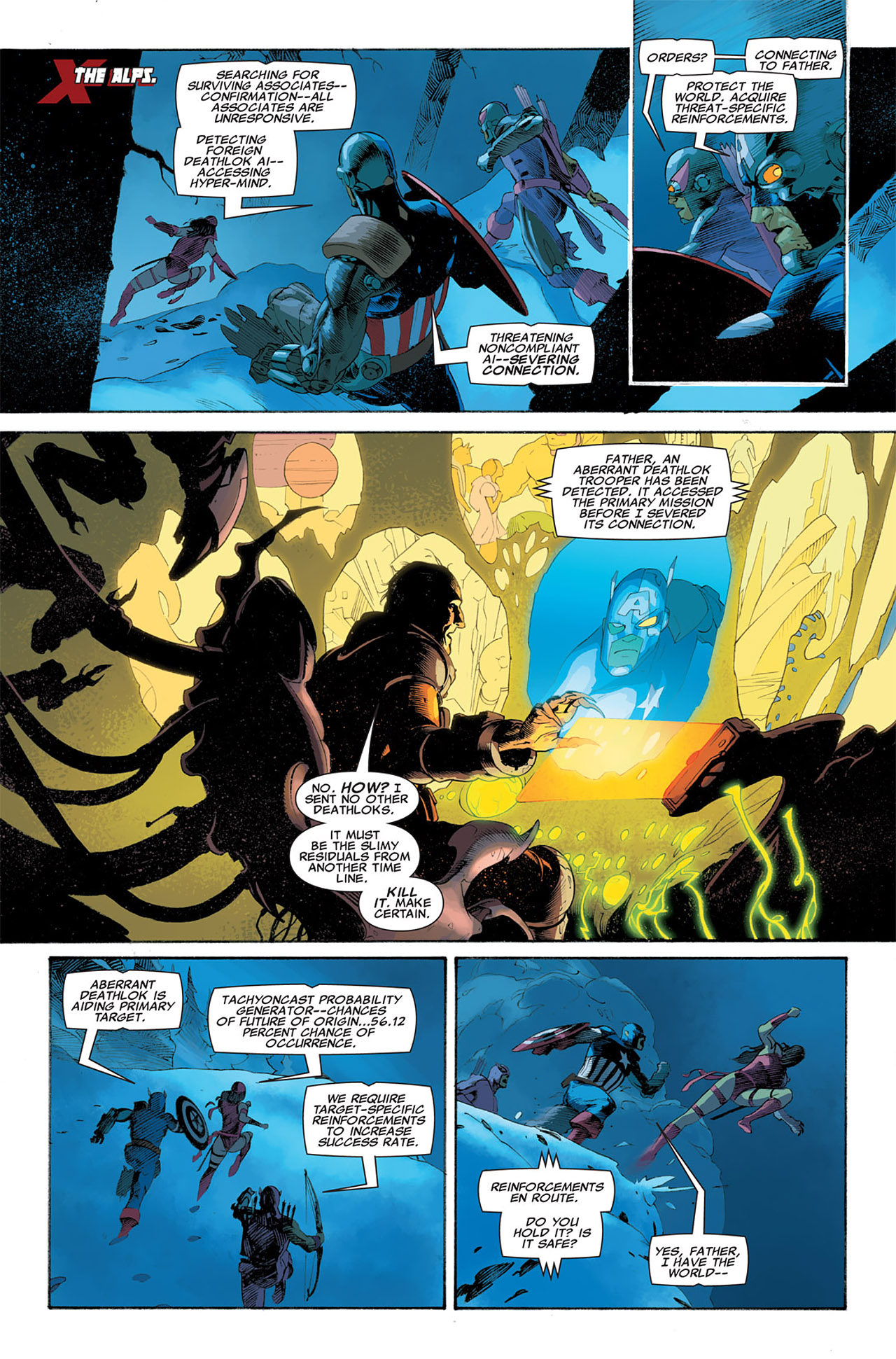 Read online Uncanny X-Force (2010) comic -  Issue #6 - 10