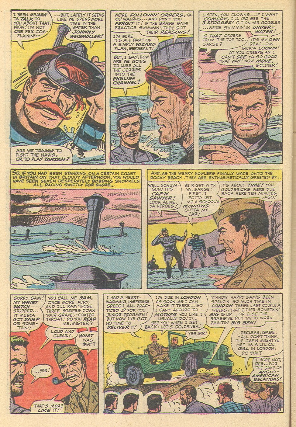 Read online Sgt. Fury comic -  Issue #92 - 28