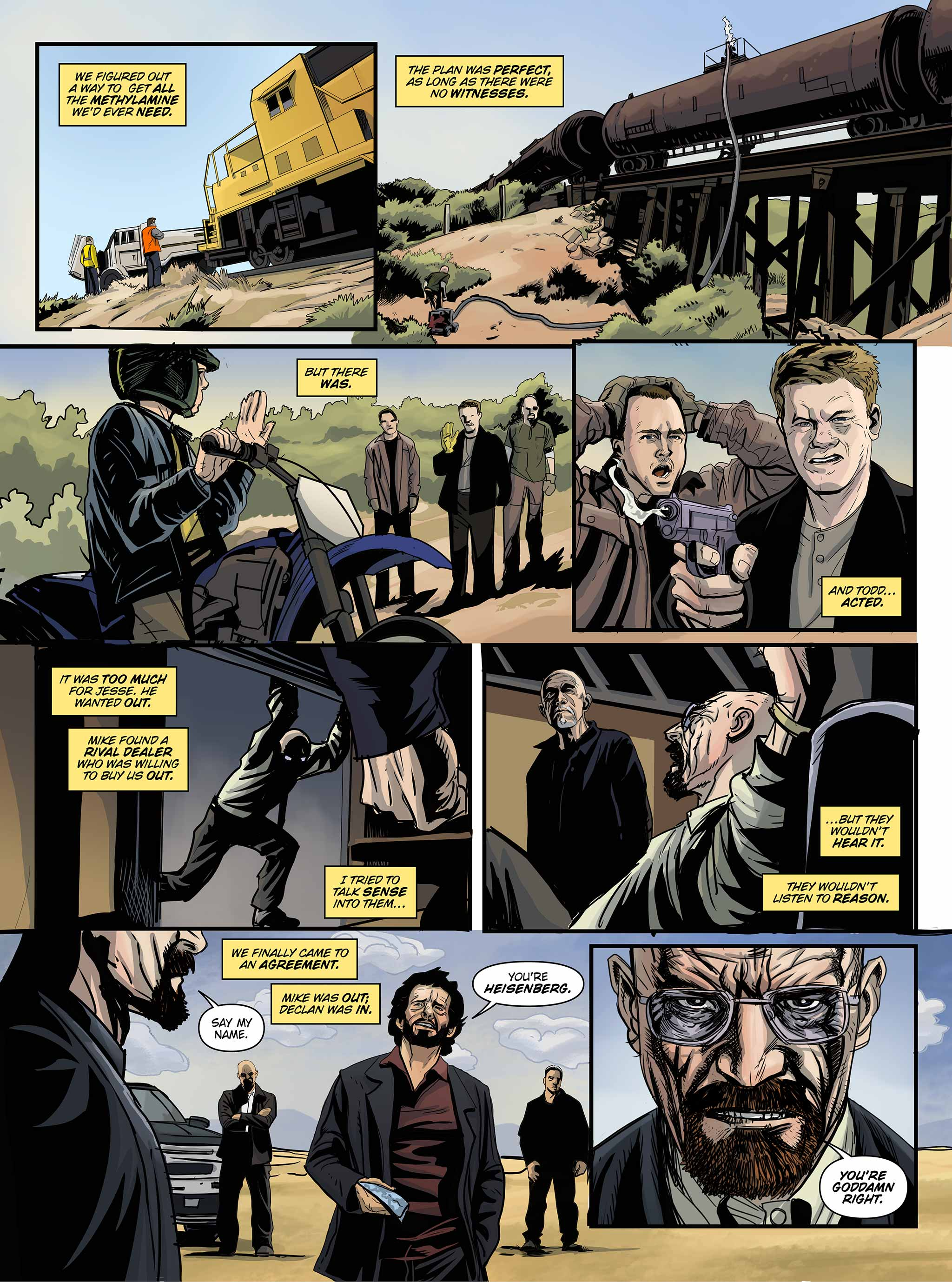 Read online Breaking Bad: All Bad Things comic -  Issue # Full - 19