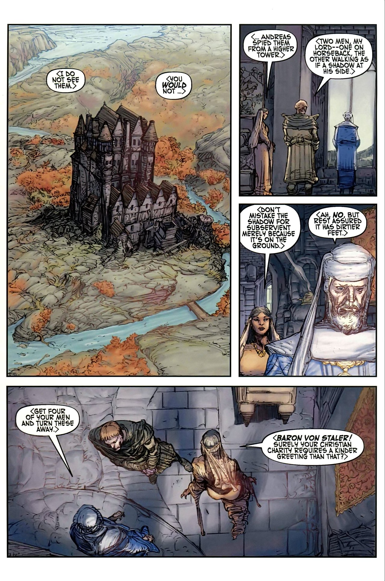 Read online Solomon Kane comic -  Issue #1 - 15