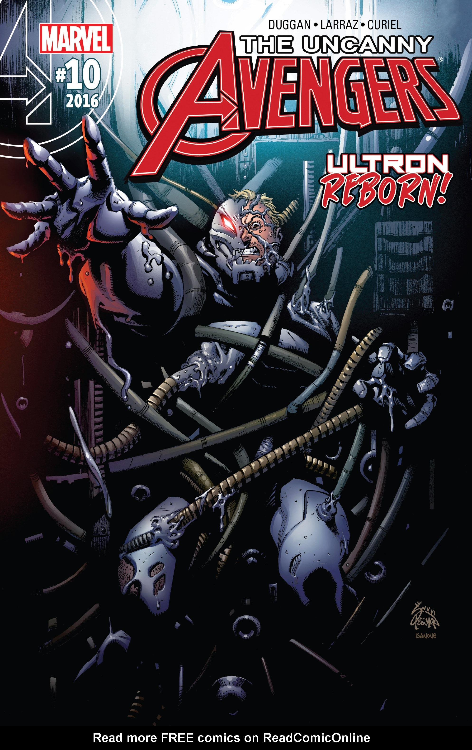 Read online Uncanny Avengers [II] comic -  Issue #10 - 1
