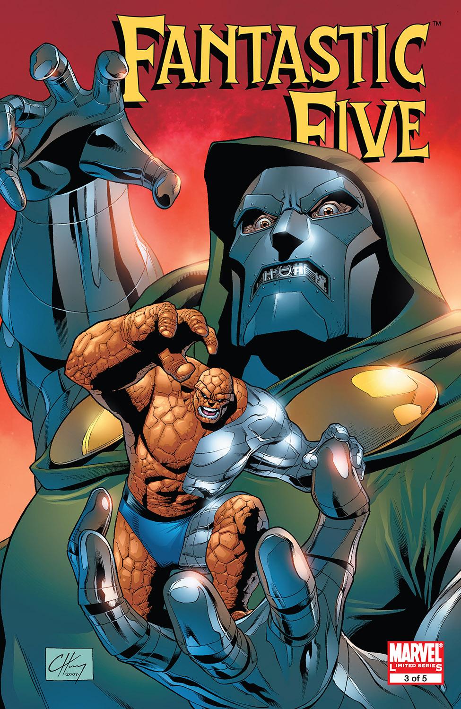 Read online Fantastic Five (2007) comic -  Issue #3 - 1