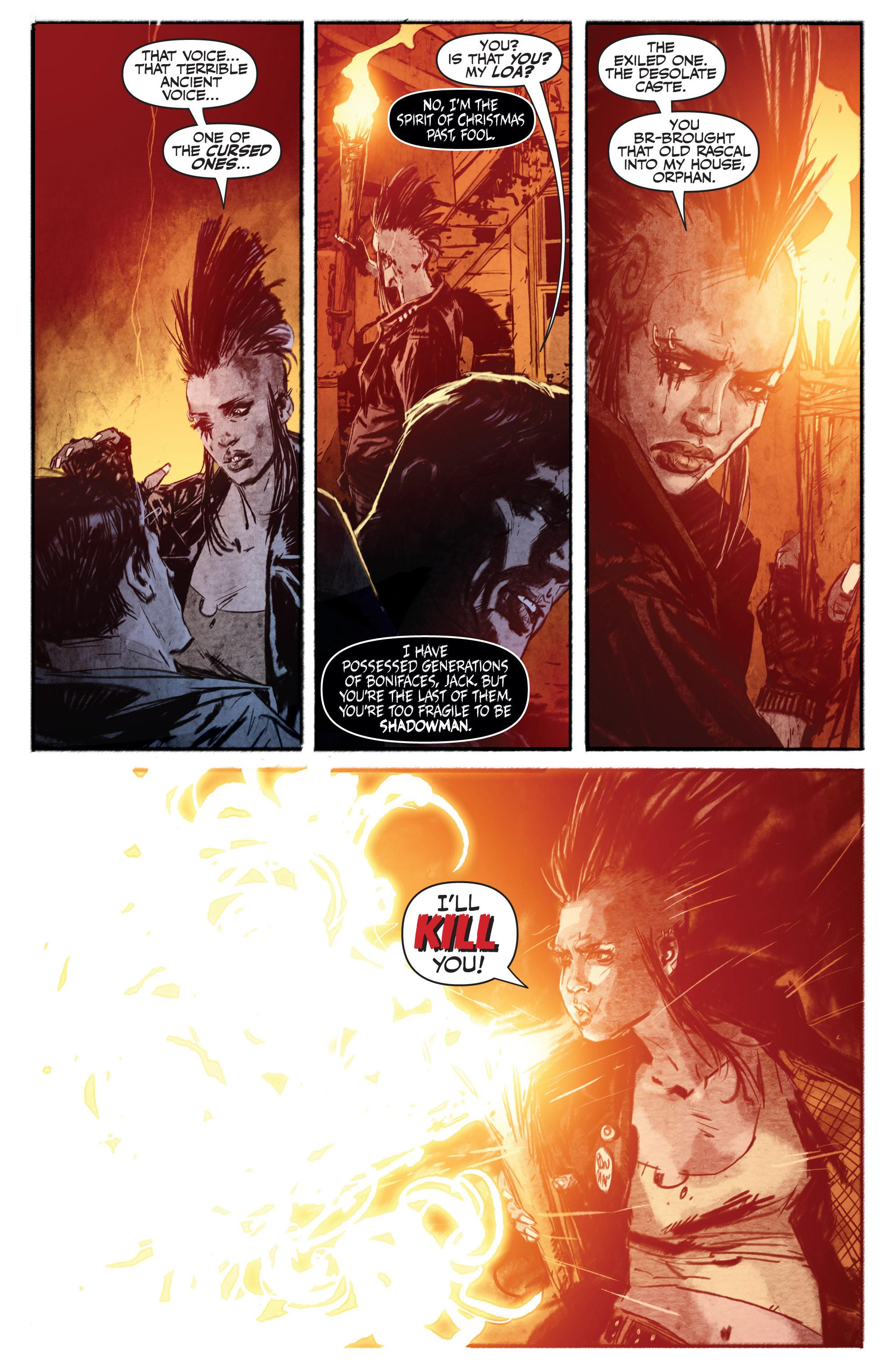 Read online Shadowman (2012) comic -  Issue #13 - 19