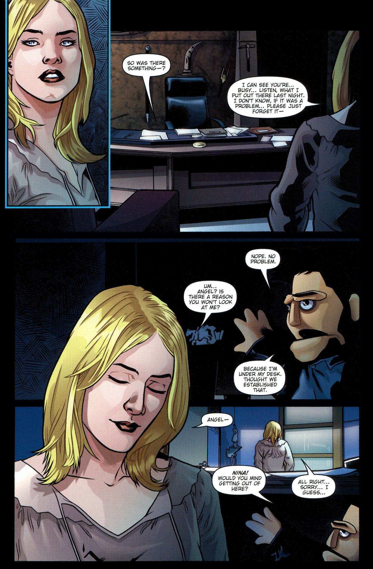 Read online Angel: Smile Time comic -  Issue #2 - 10