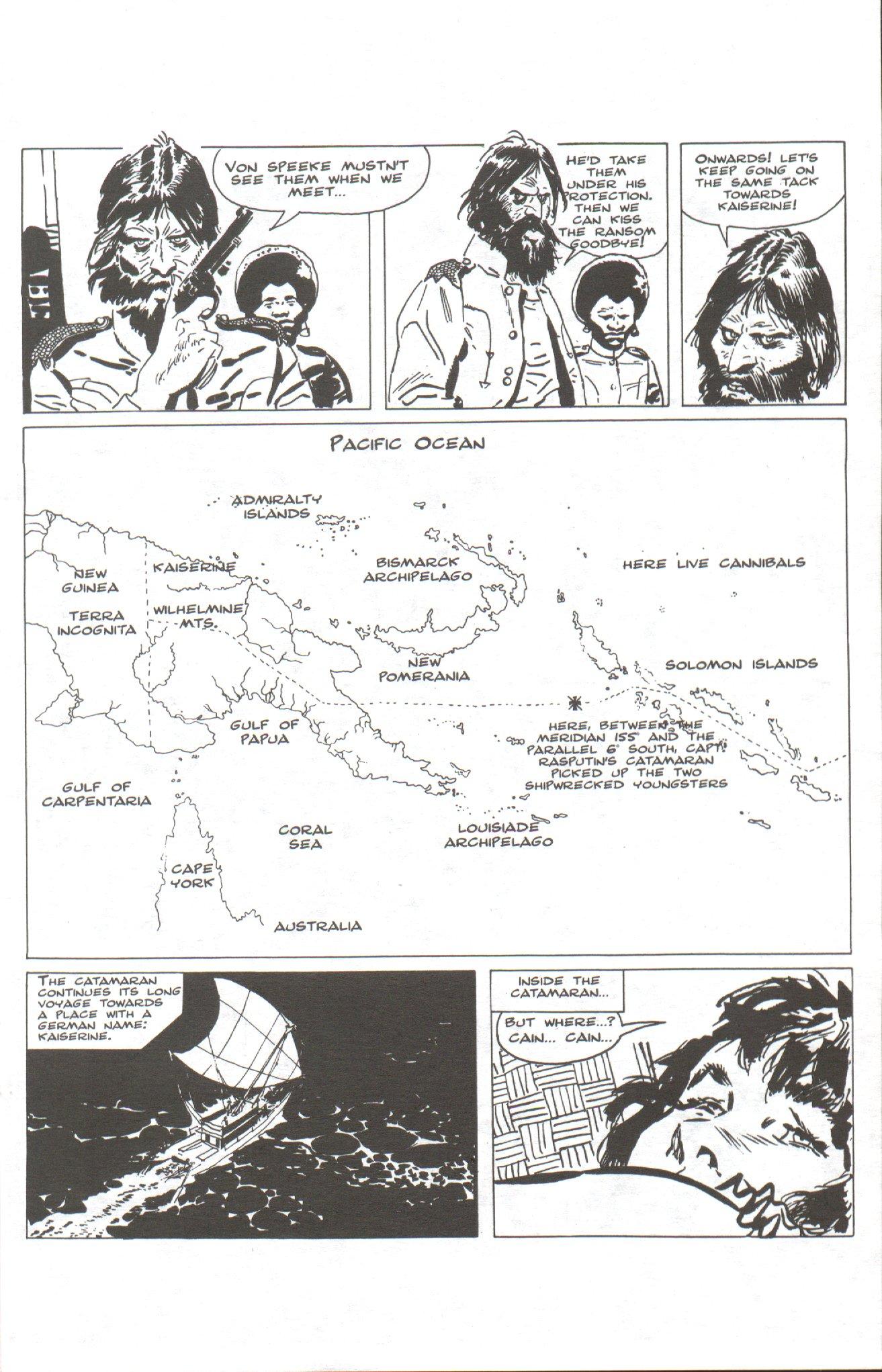 Read online Corto Maltese: Ballad of the Salt Sea comic -  Issue #1 - 5