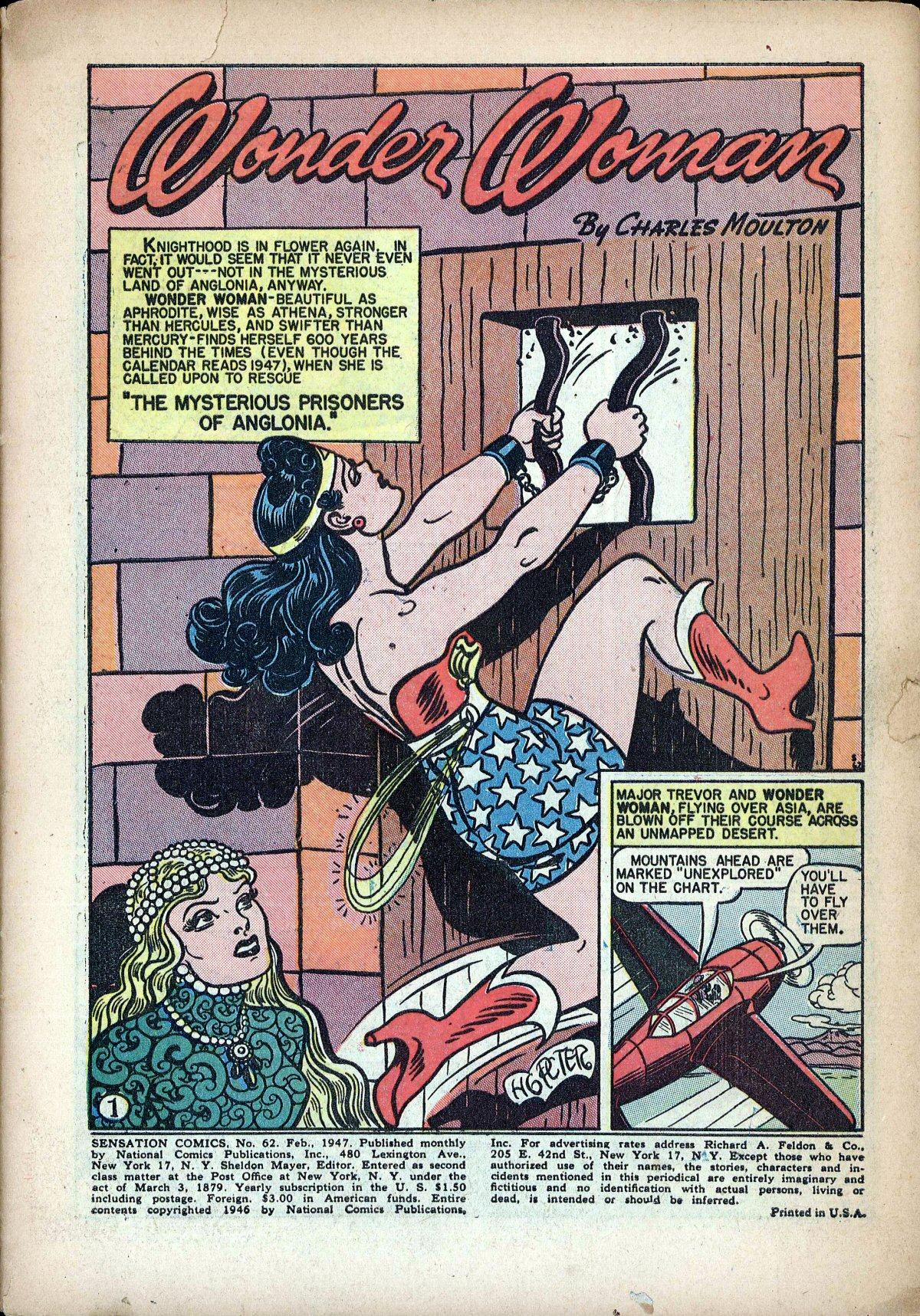 Read online Sensation (Mystery) Comics comic -  Issue #62 - 3