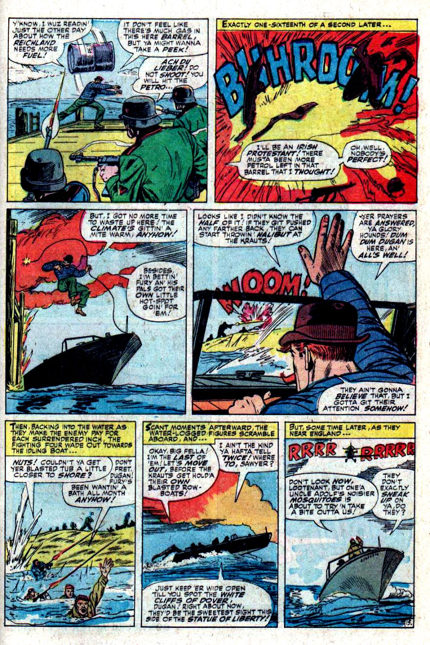 Read online Sgt. Fury comic -  Issue #34 - 21