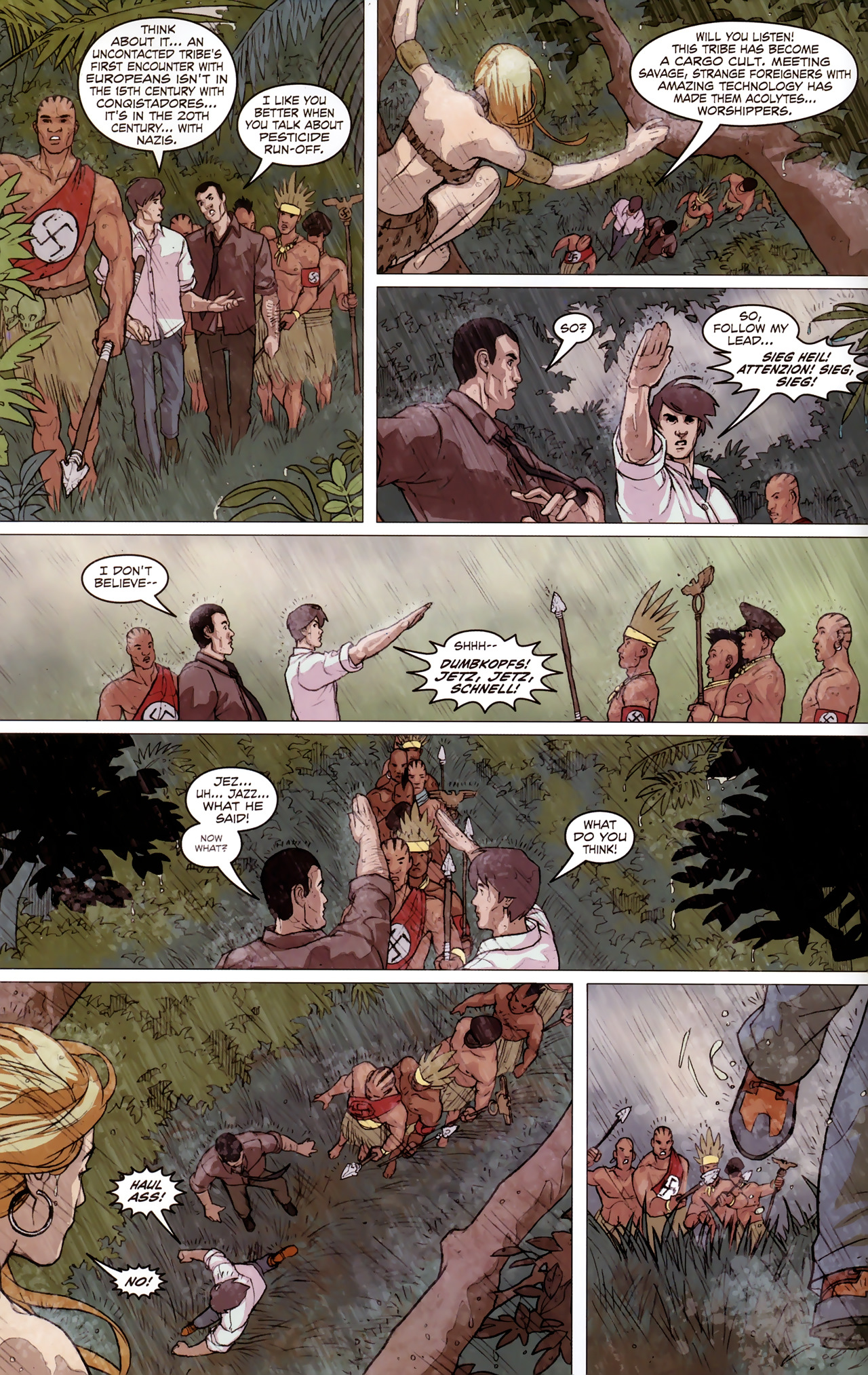 Read online Sheena Queen of the Jungle: Dark Rising comic -  Issue #2 - 12