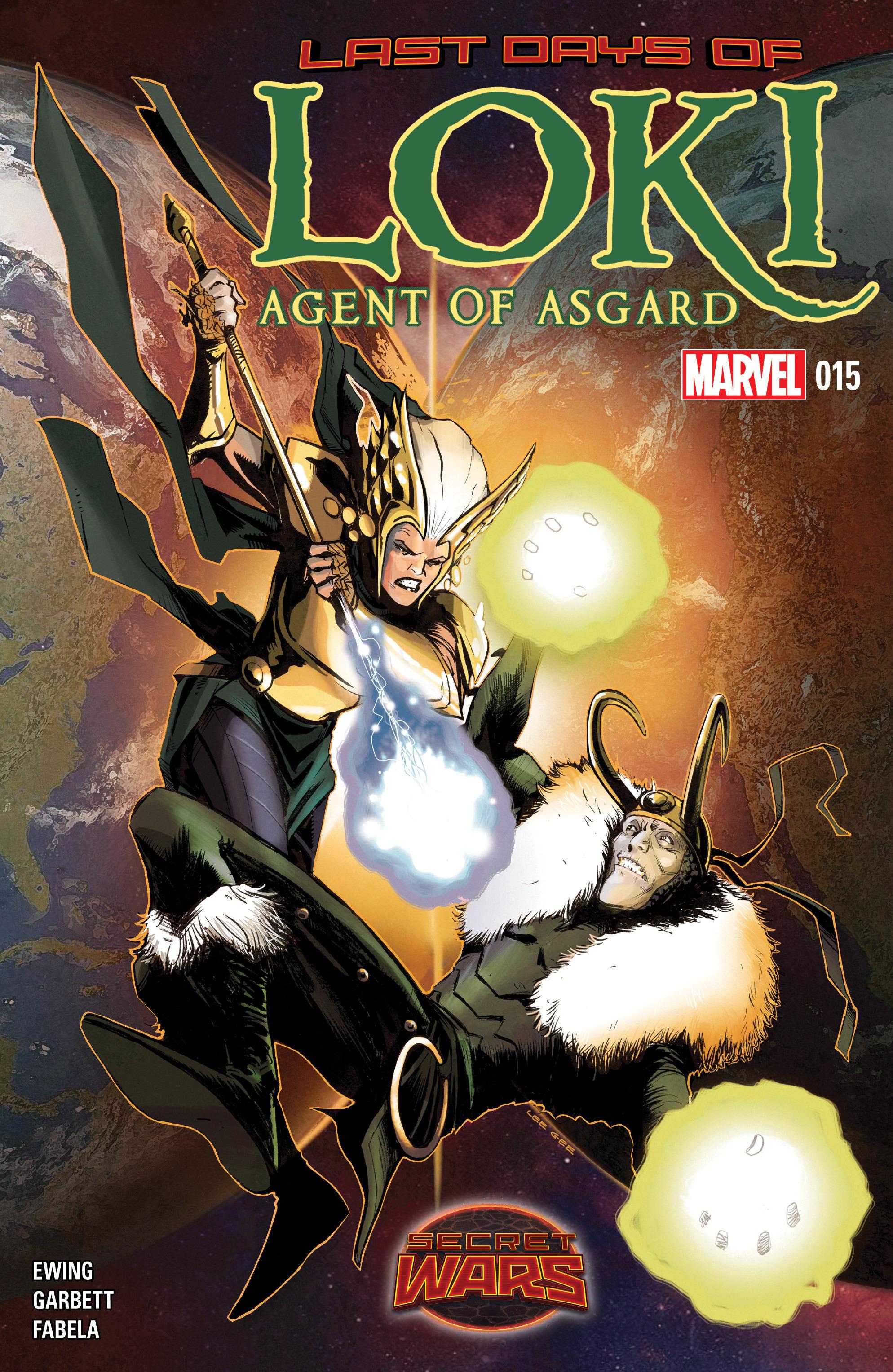 Loki: Agent of Asgard 15 Page 1