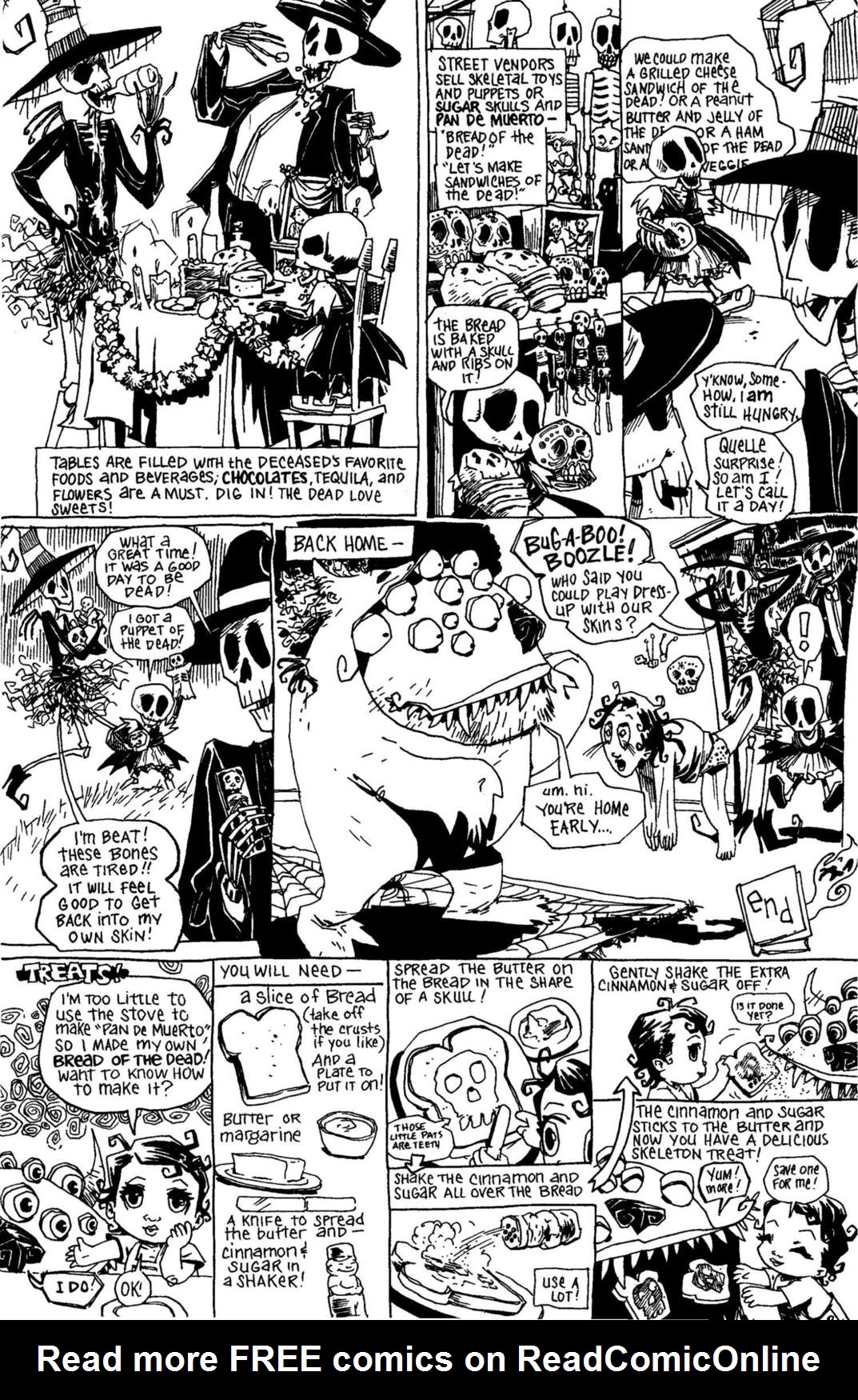 Read online Scary Godmother Comic Book Stories comic -  Issue # TPB - 269