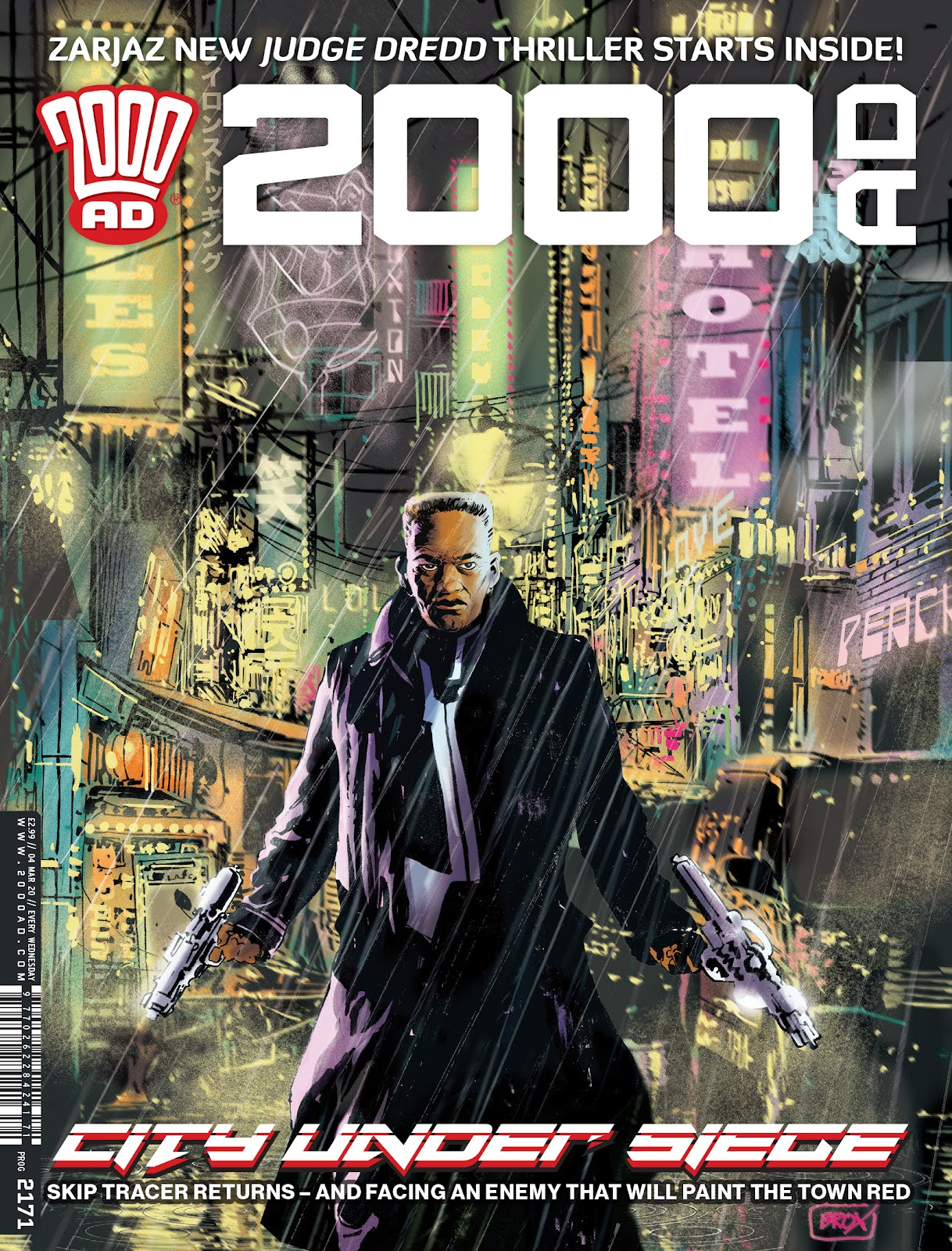 2000 AD issue 2171 - Page 1