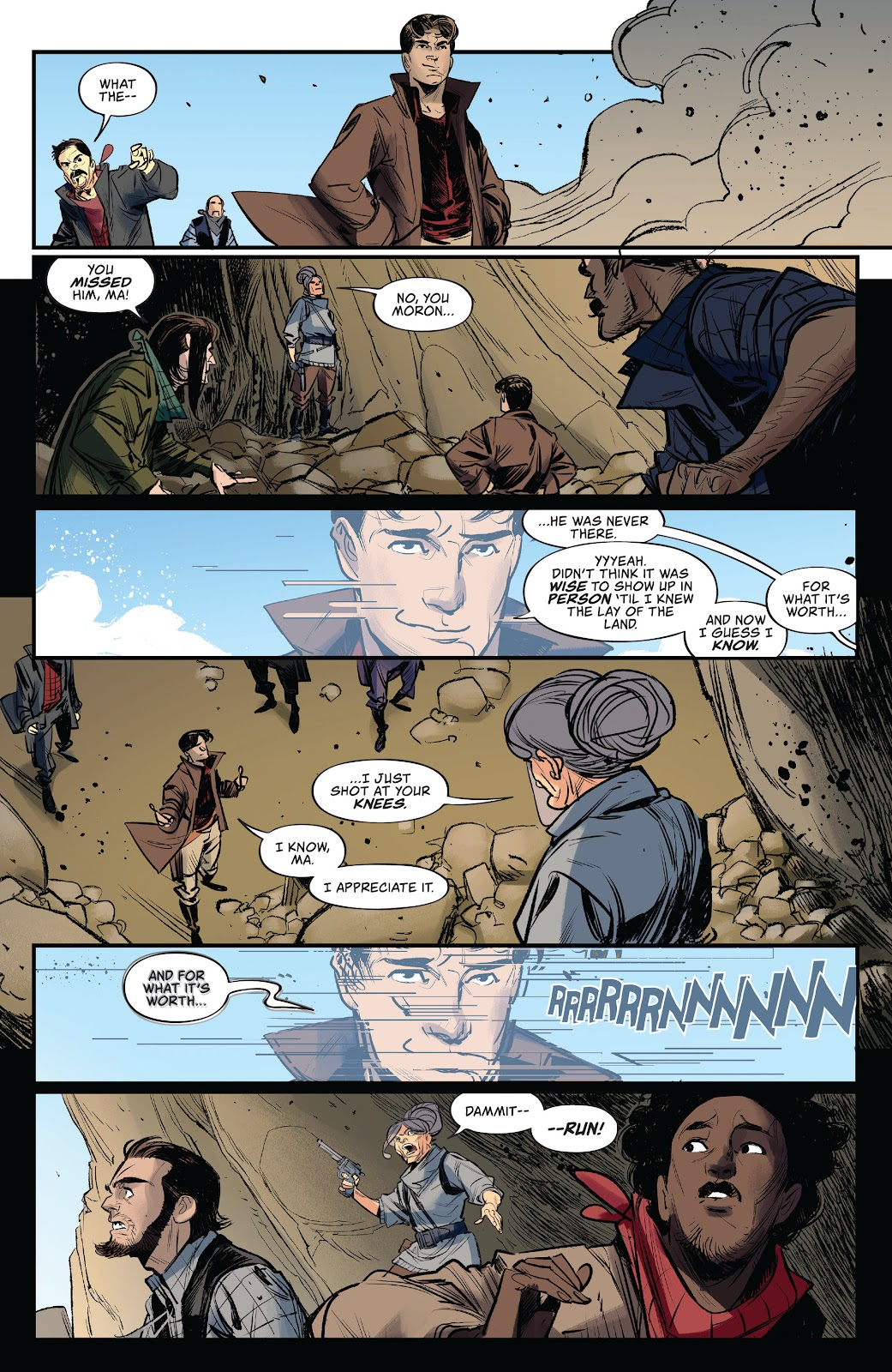 Read online Firefly: The Outlaw Ma Reynolds comic -  Issue # Full - 14